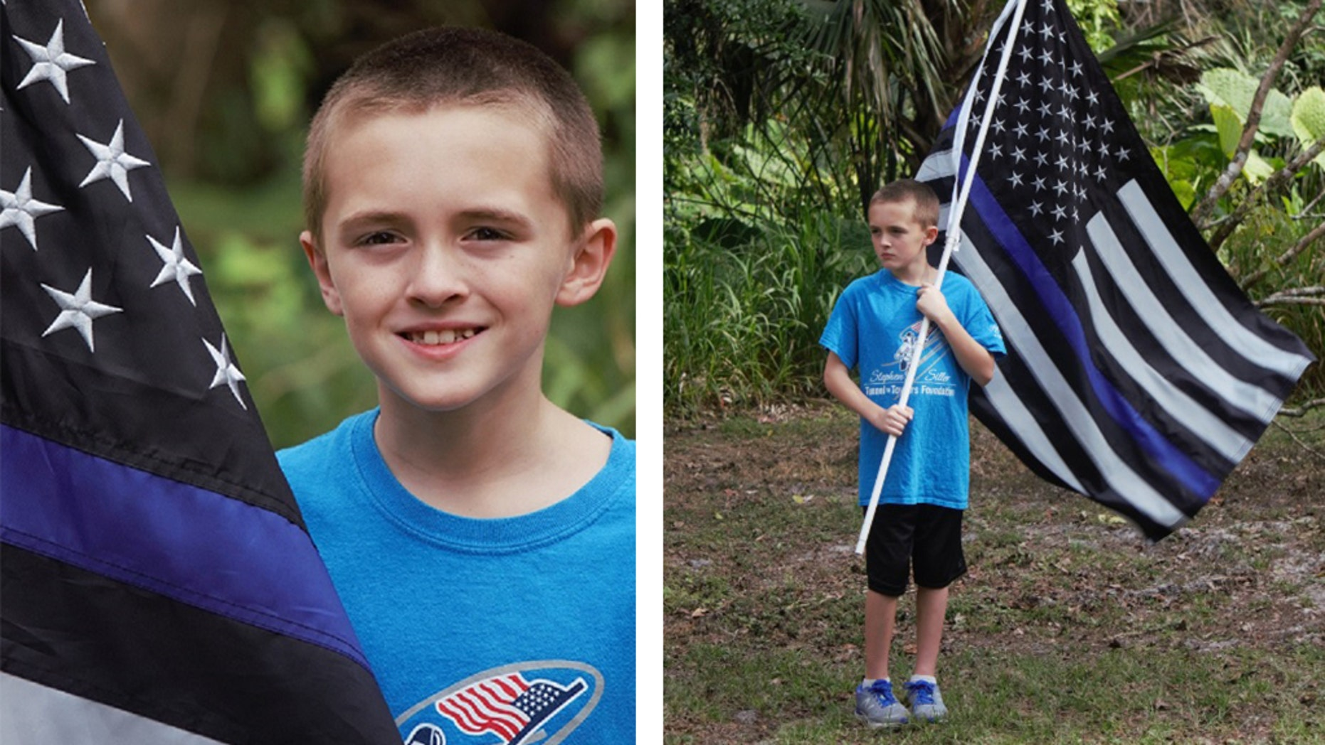A 10-year-old boy in Florida has reportedly found his own way to pay homage to fallen law enforcement officers – by running a mile for them.