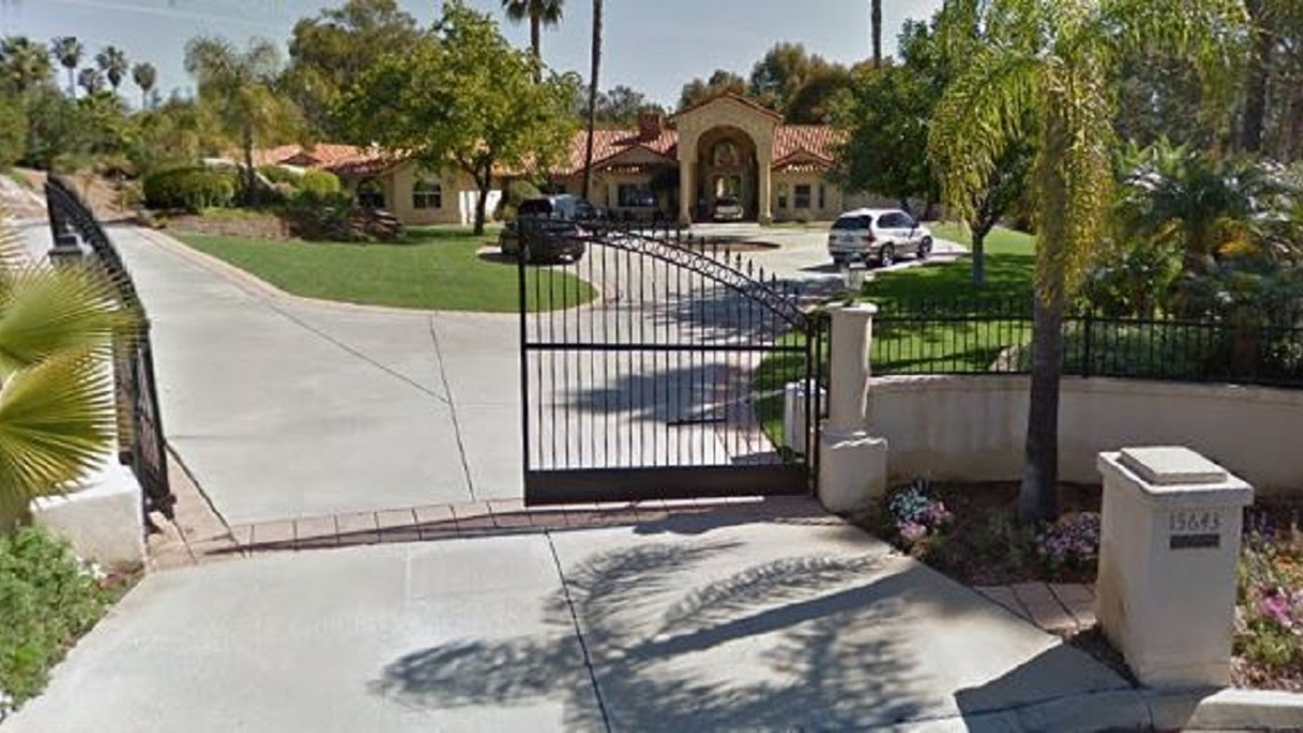A squatter has reportedly been living in the multimillion-dollar home of former MLB player Tony Gwynn.
