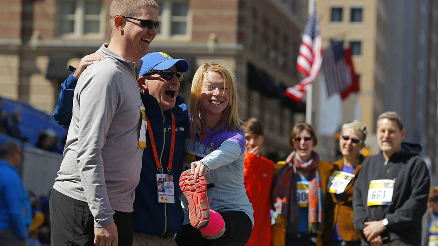 Boston Marathon amputee struck by car, sent to hospital