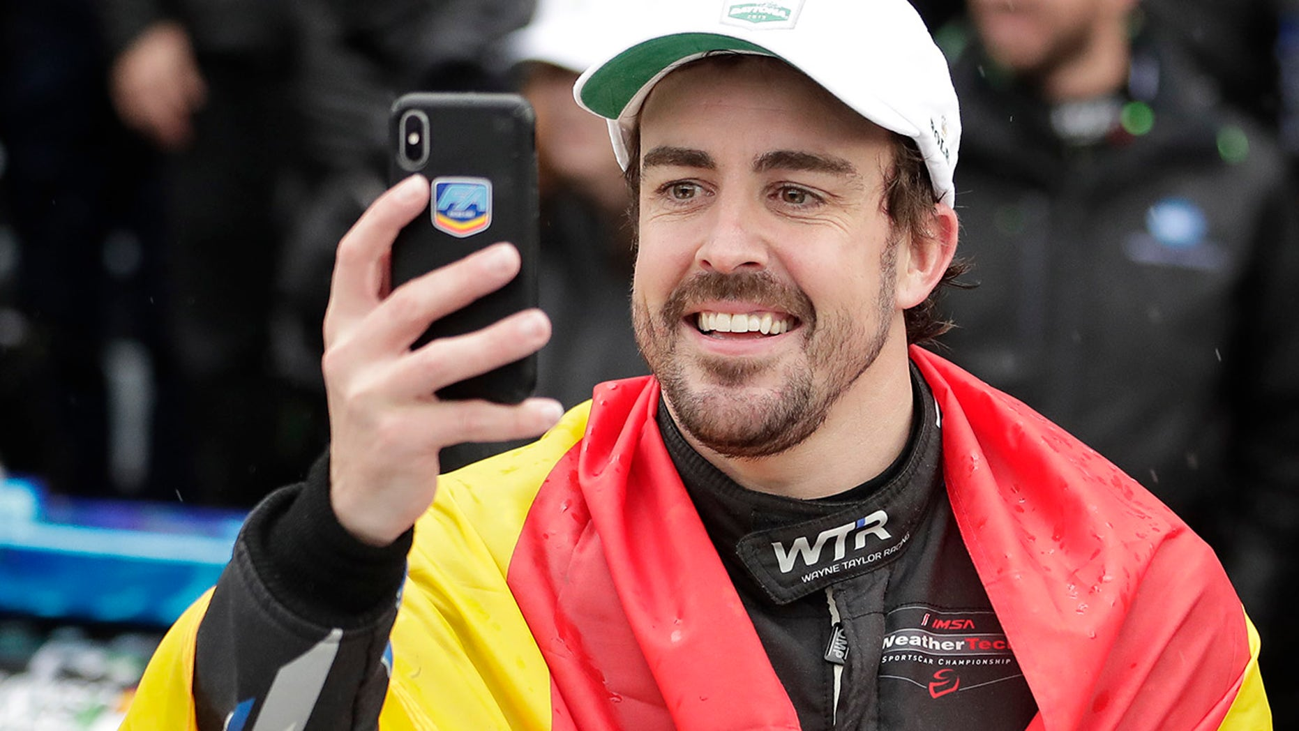 Alonso is coming off a victory at the 24 Hours of Daytona.