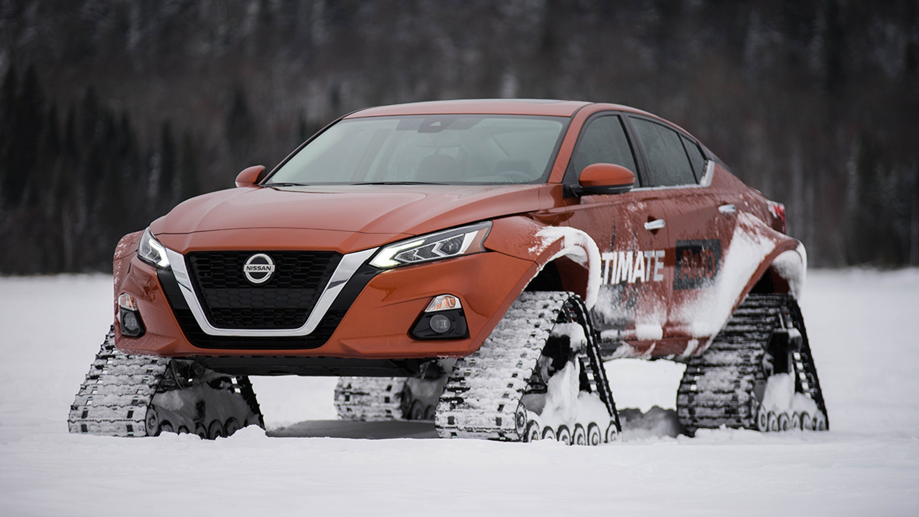 Nissan Gives Into Snow-Track Addiction Once Again, Builds Ultimate Winter Altima