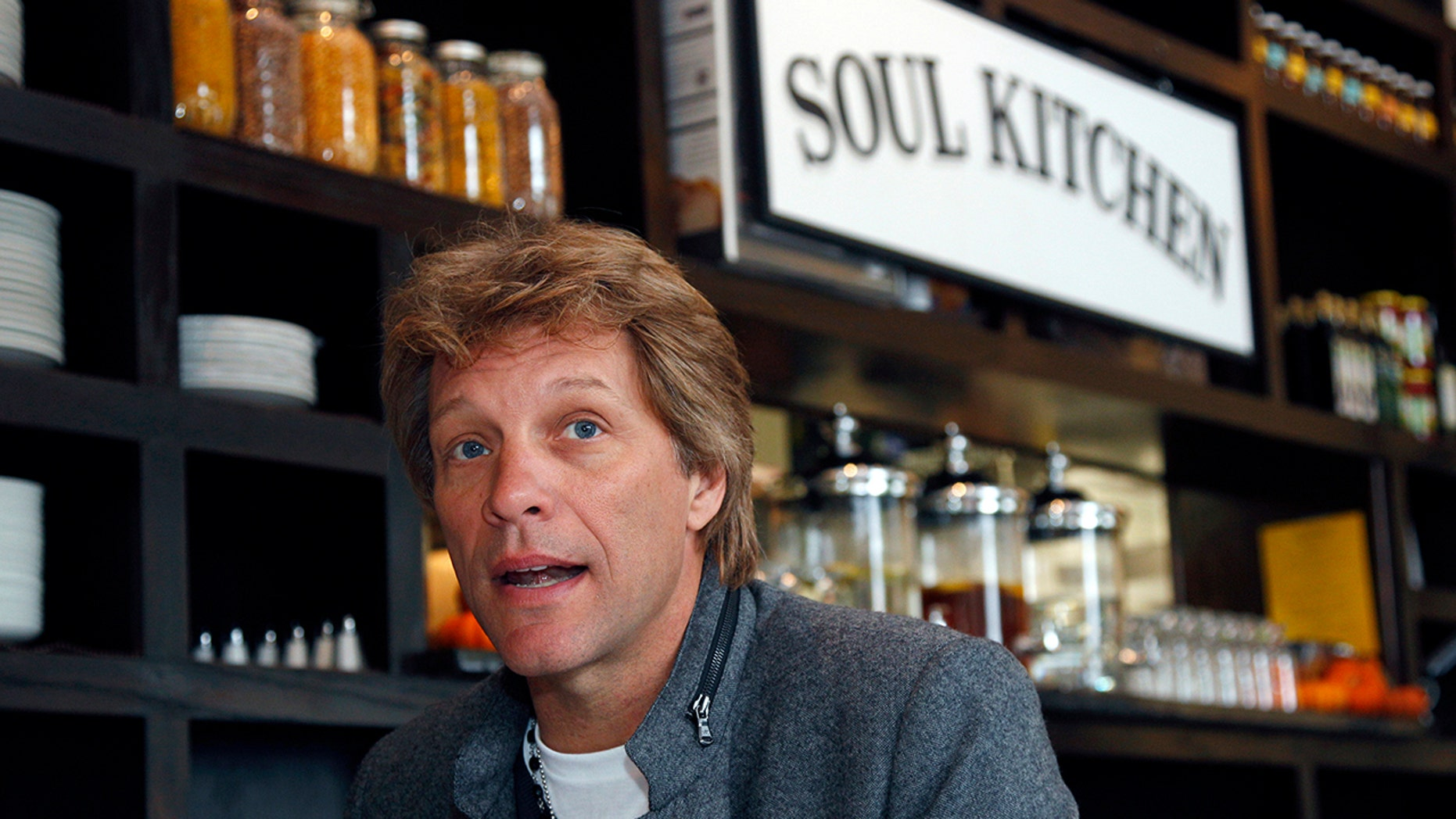 Jon Bon Jovi partnered with Gov. Phil Murphy's charity, The Murphy Family Foundation, to provide the food Monday, Jan. 21 from noon to 2 p.m.