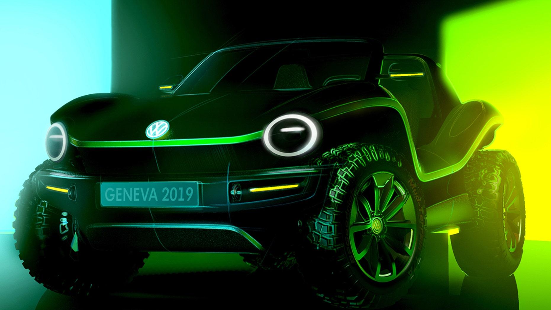 Volkswagen Is Bringing Back The Dune Buggy