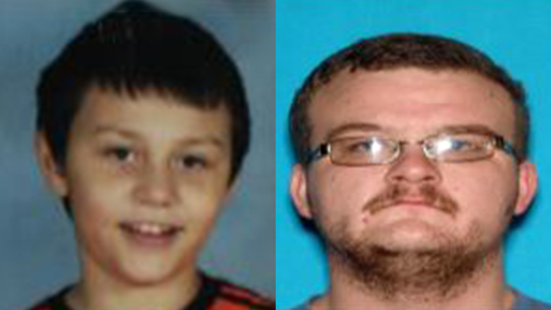 Isaih Boren, left, was last seen with Isaac Ray Chamberlain.