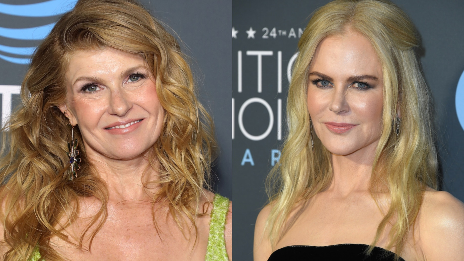 Connie Britton and Nicole Kidman