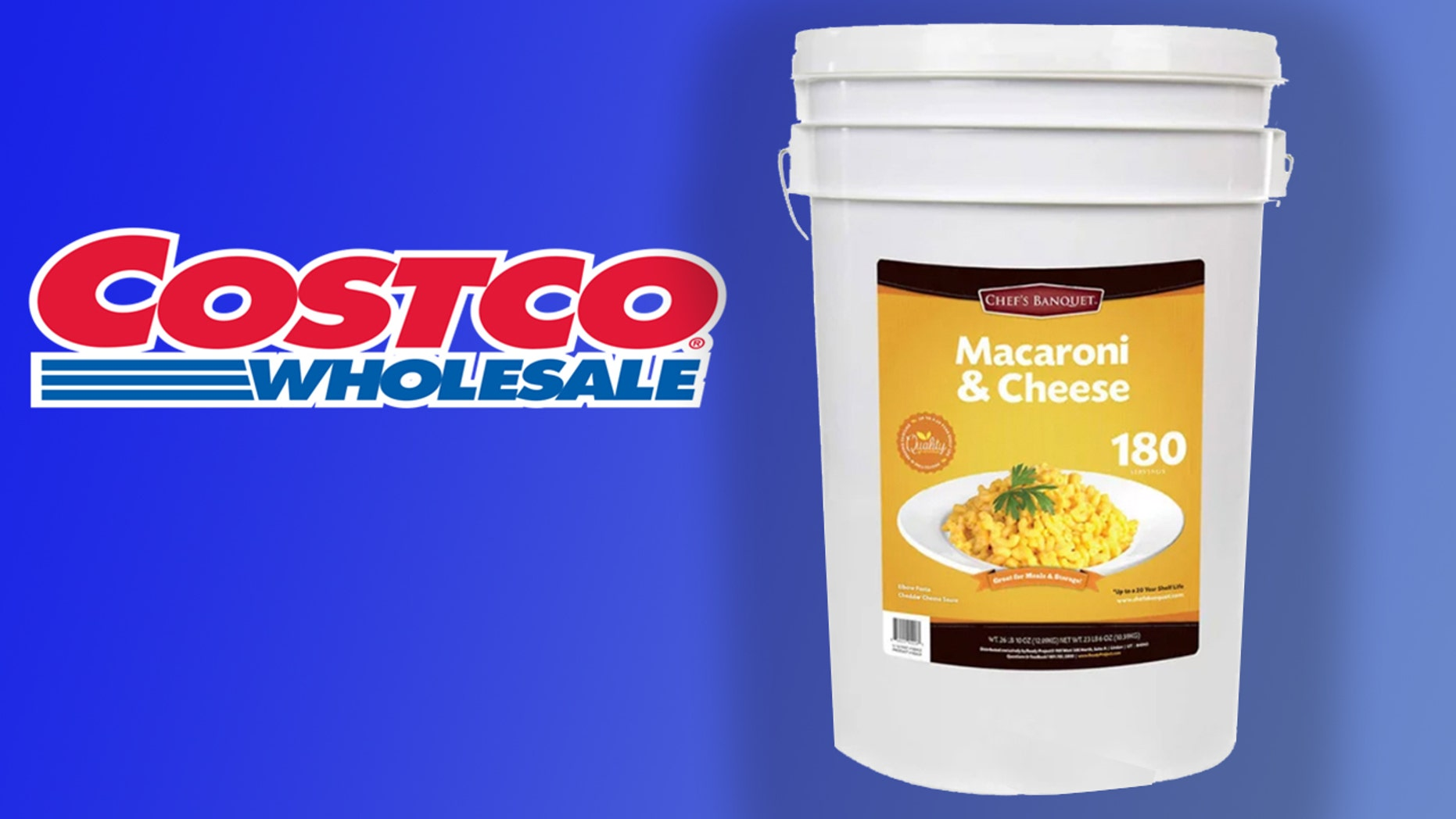 Costco has sold out of its 27-pound tub of Mac and Cheese.