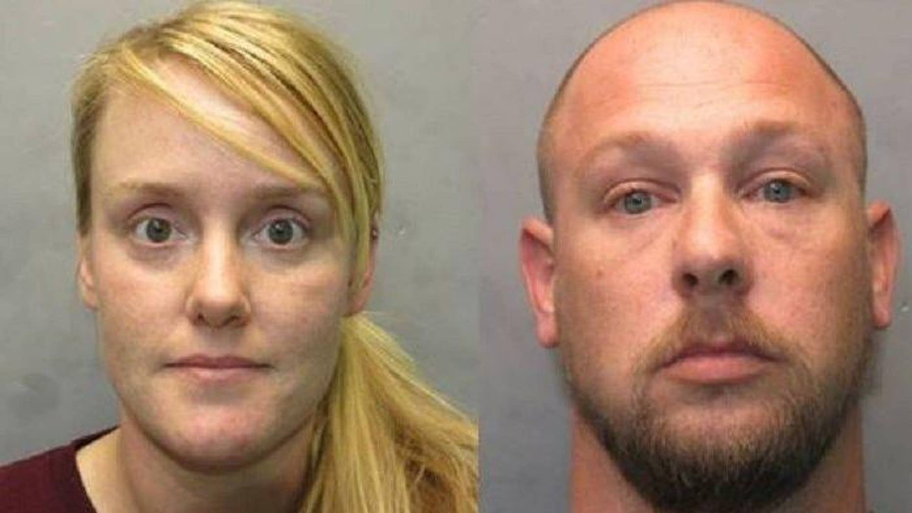 Ashley and Lee Roe were arrested for skipping out on paying hotel bills totaling to more than $10,000, police said.