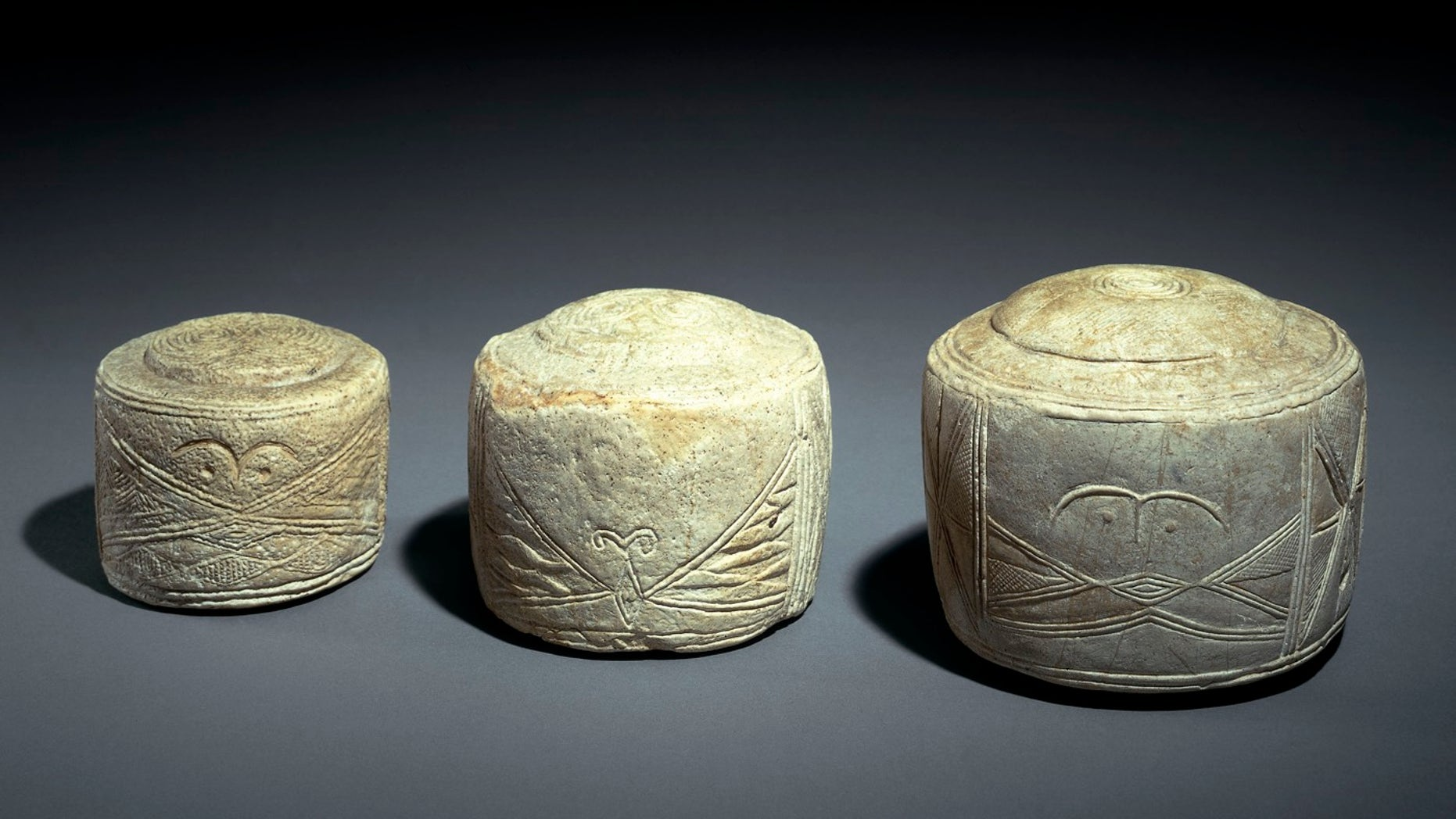 Researchers say these chalk cylinders, carved more than 4,000 years ago, give the exact length measurements used to lay out Neolithic monuments like Stonehenge.
