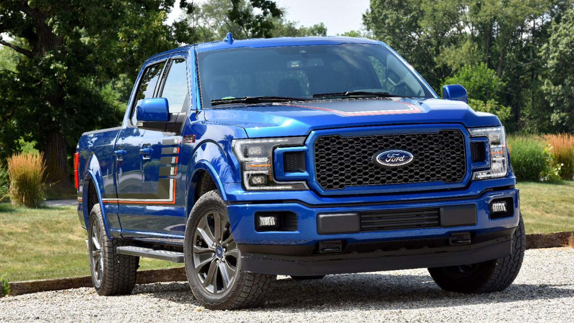 The stream F-150 is offering with gas and diesel engines.