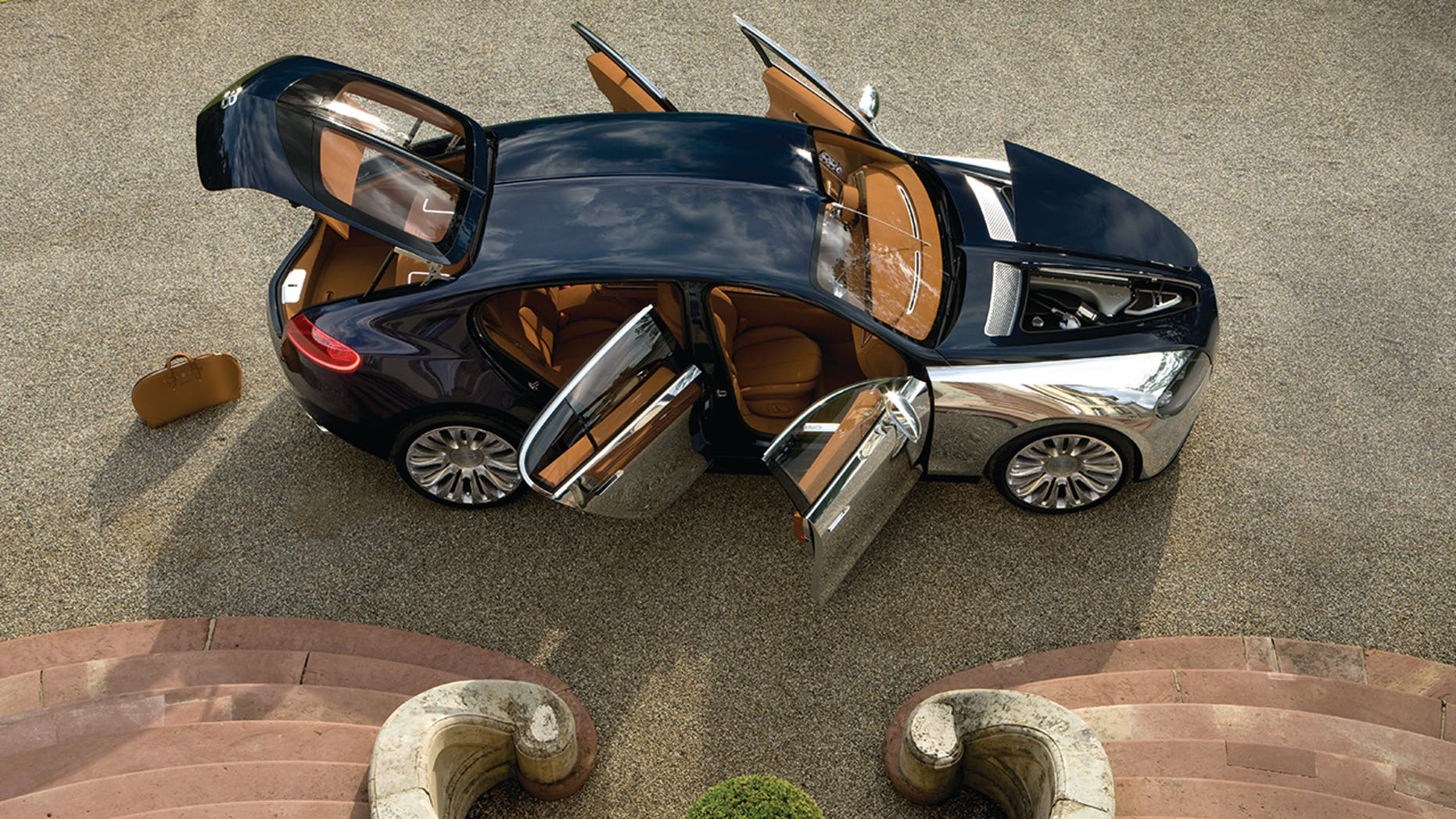 The liftback Bugatti Galibier is the closest the brand will get to an SUV