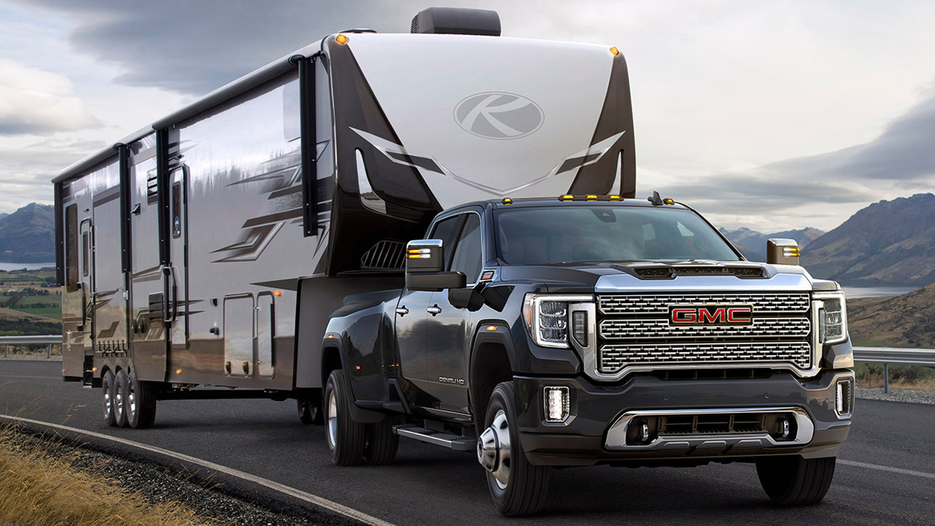 2020 GMC Sierra HD pickup revealed with X-ray vision | Fox ...