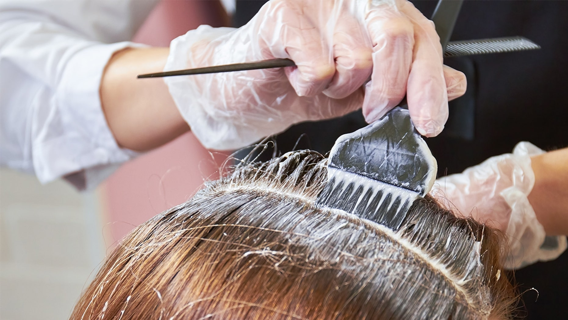 A bride claims her mother-in-law wants her to dye her hair so they don't match on the wedding day.