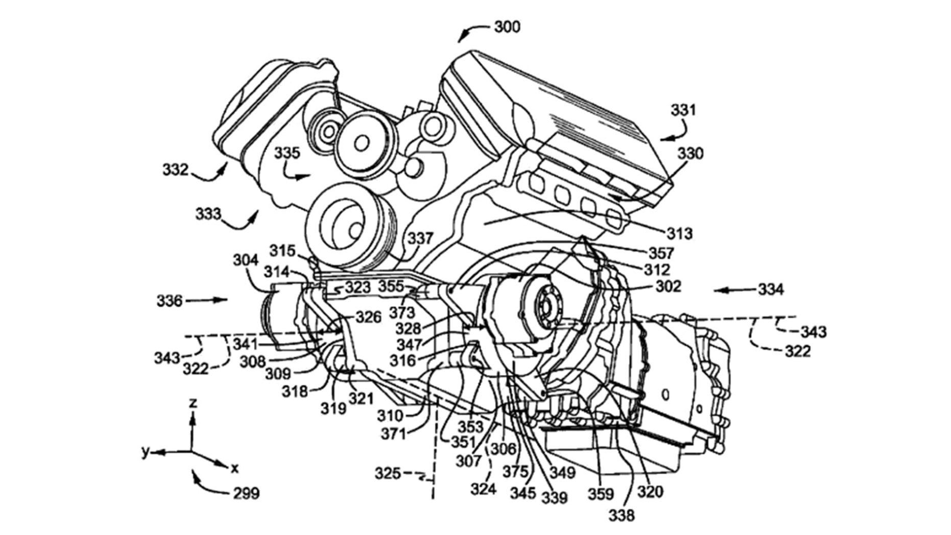 Unique all-wheel-drive hybrid V8 powertrain revealed in