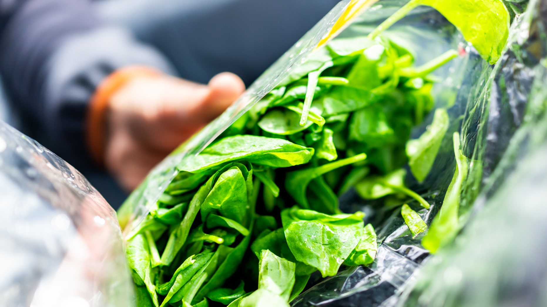 A woman was horrified by what her spinach salad contained.