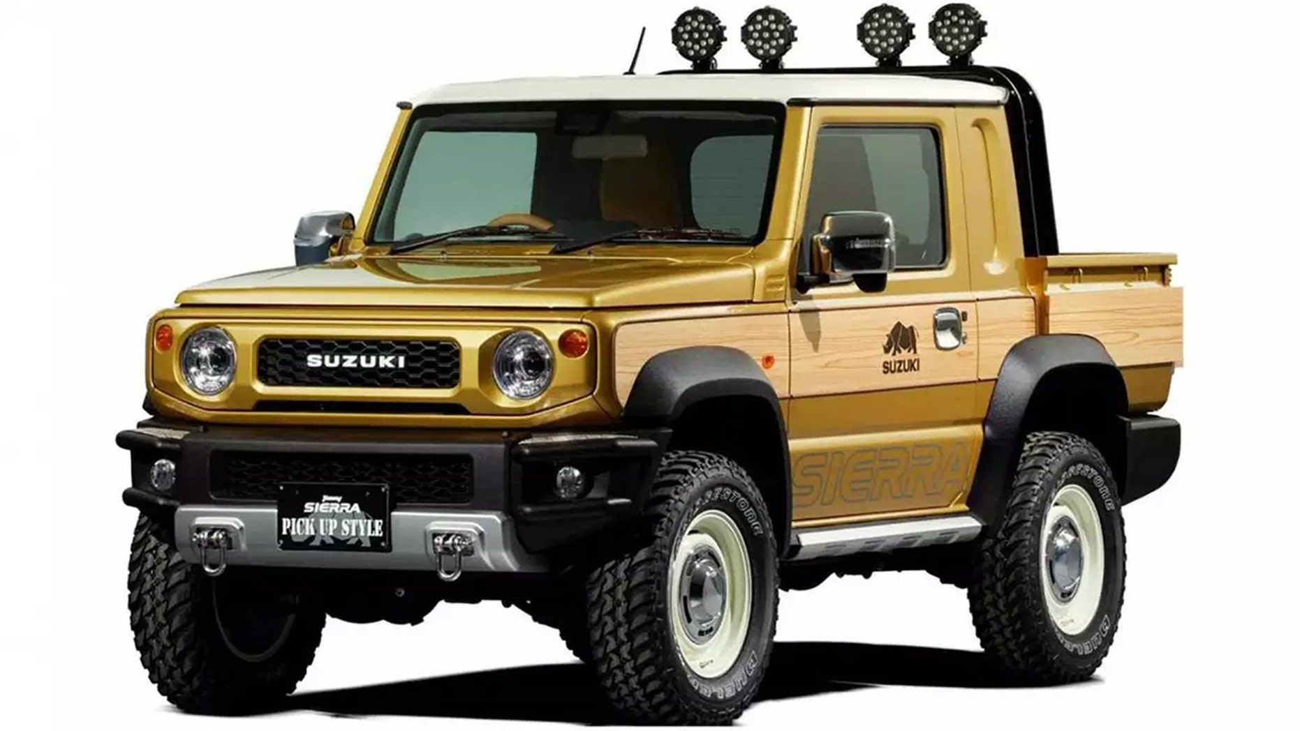 The Suzuki Samurai Pickup Is Cutest Truck You Ll See Today