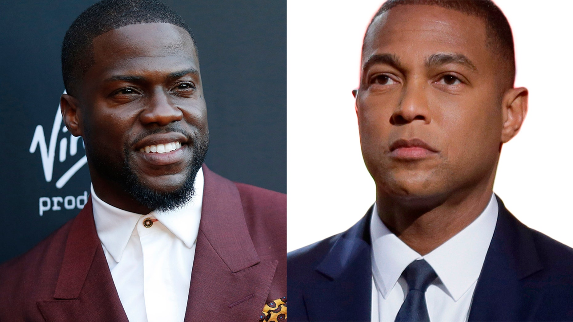 HDon Lemon, right, urged Kevin Hart, left, to be more of an ally to the LGBTQ community.