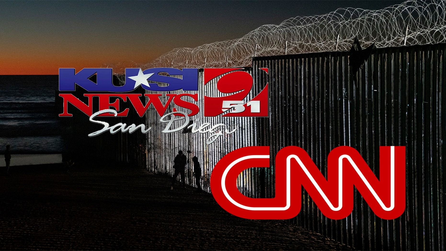 San Diego's KUSI accused CNN of backing of a request for a local border wall perspective when the response was pro-wall.
