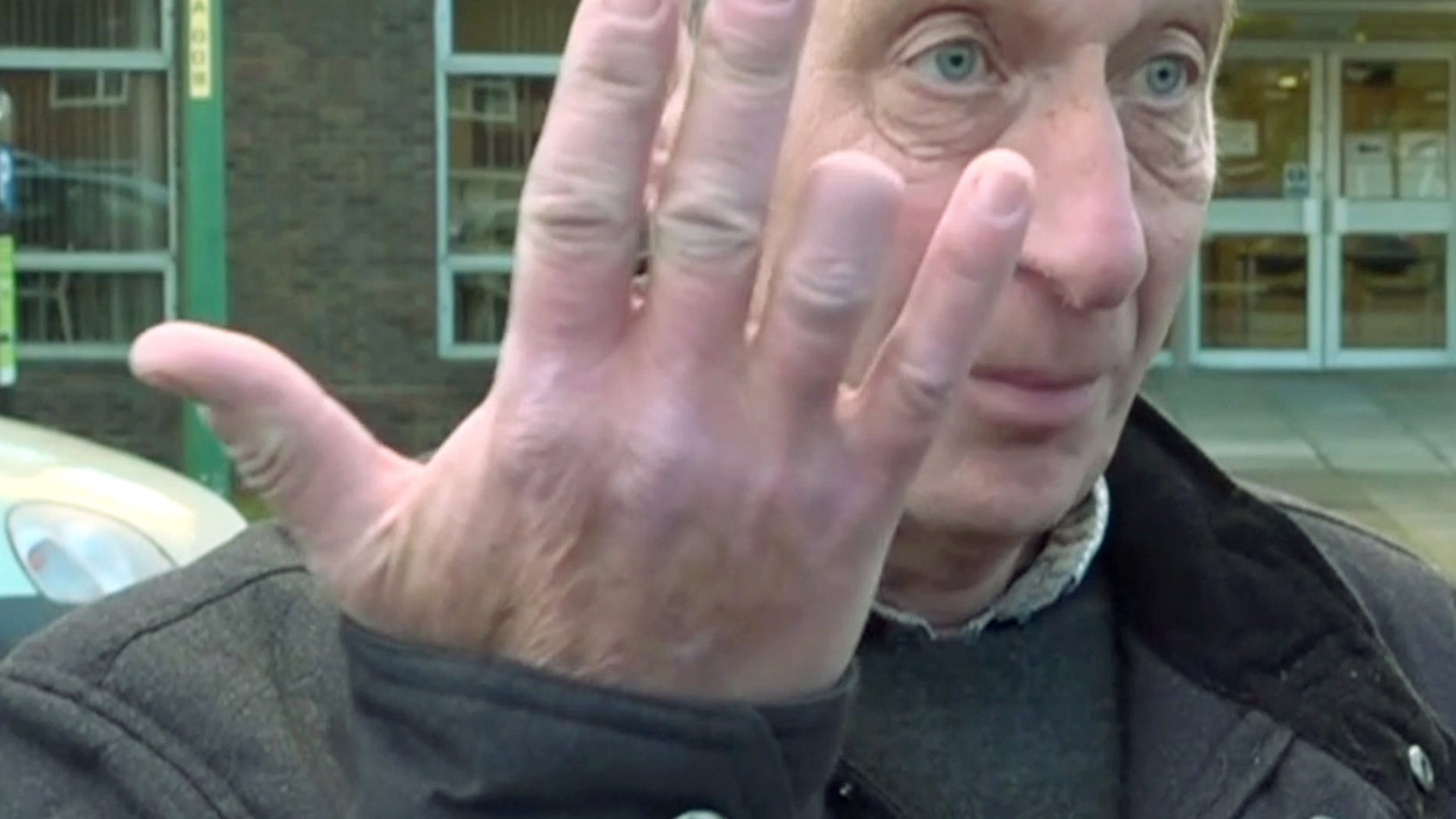 """A woman tried claiming the postman who had his finger bitten off by her dog as he pushed post through the letterbox had it coming because he was """"trespassing."""""""