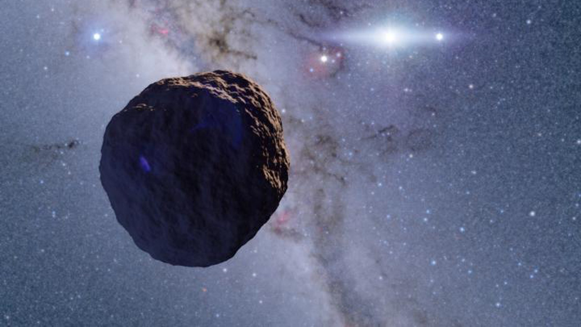 Kilometer-sized Kuiper belt object provides missing link in planetary evolution