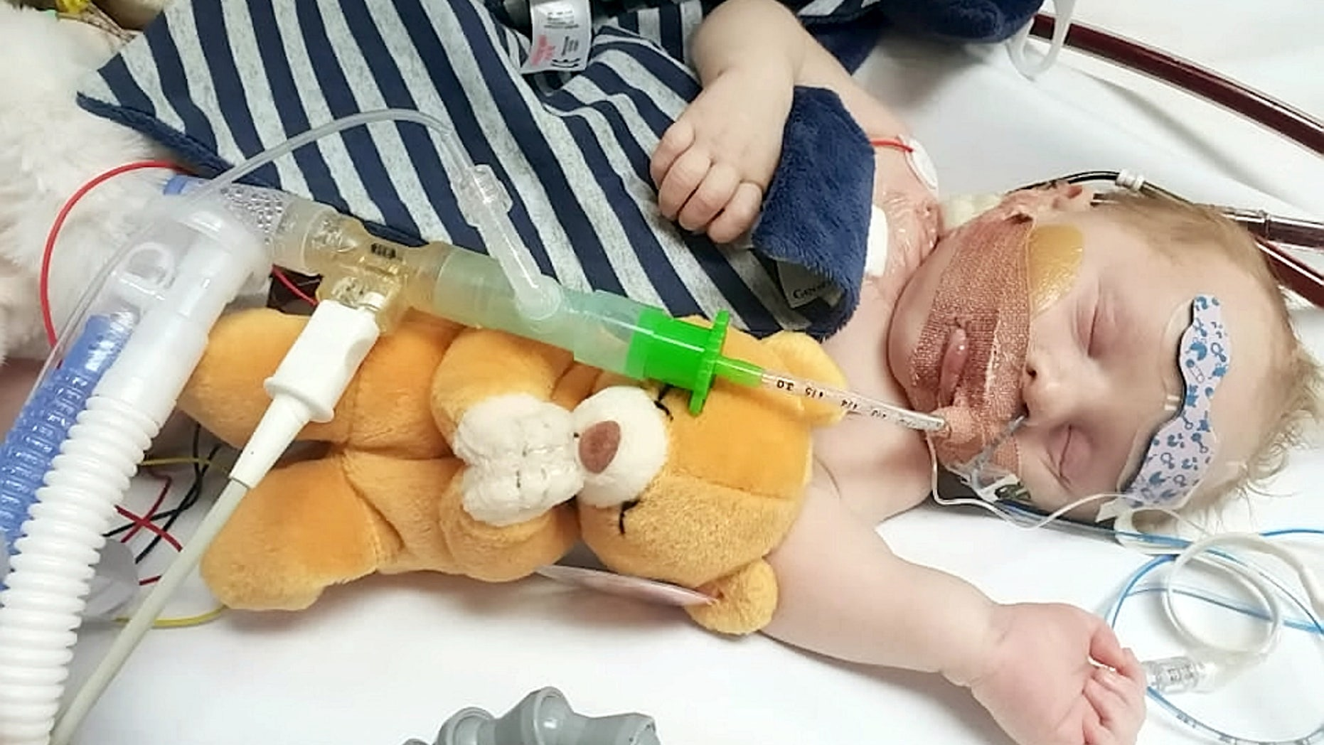 Carter Cookson suffered cardiac arrest three times within hours of his birth, and is need of a life-saving heart transplant.