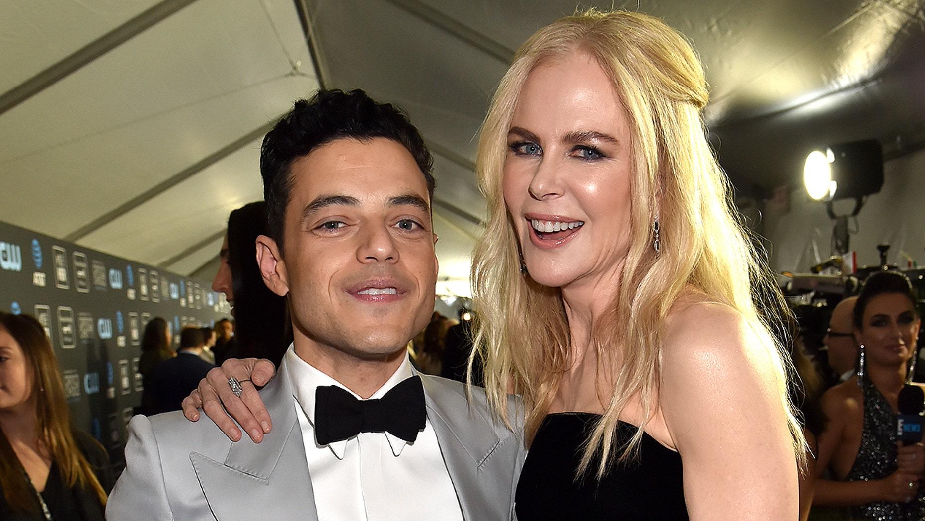 Nicole Kidman explains why she snubbed Rumi Malek at the Golden Globes