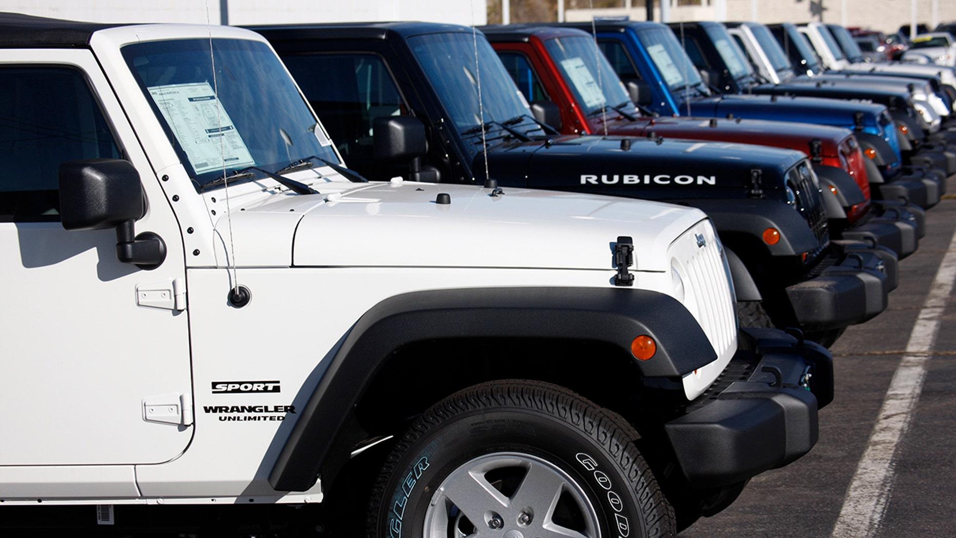 50f7a9fa8b5 Fiat Chrysler recalling 1.6 million vehicles to fix Takata air bags ...