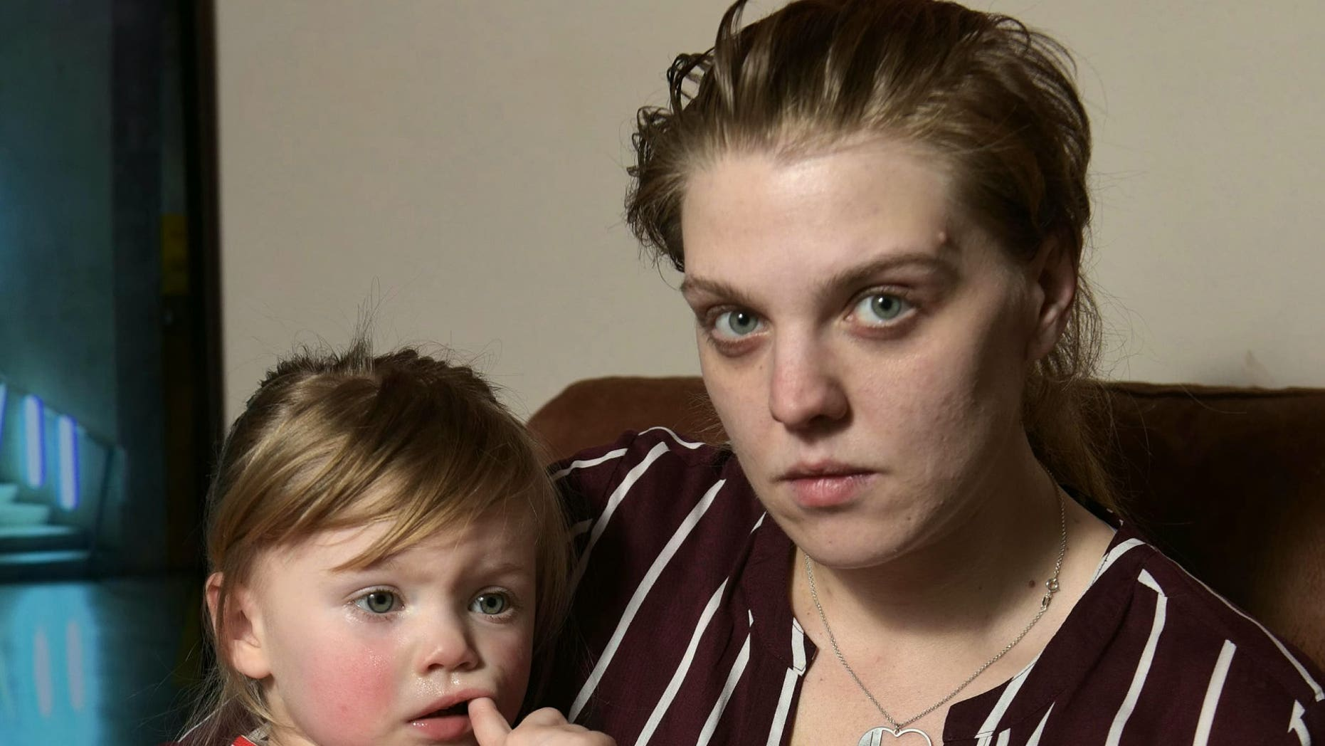 Charlotte Downie claims she found glass in her daughter's Little Angels diaper.