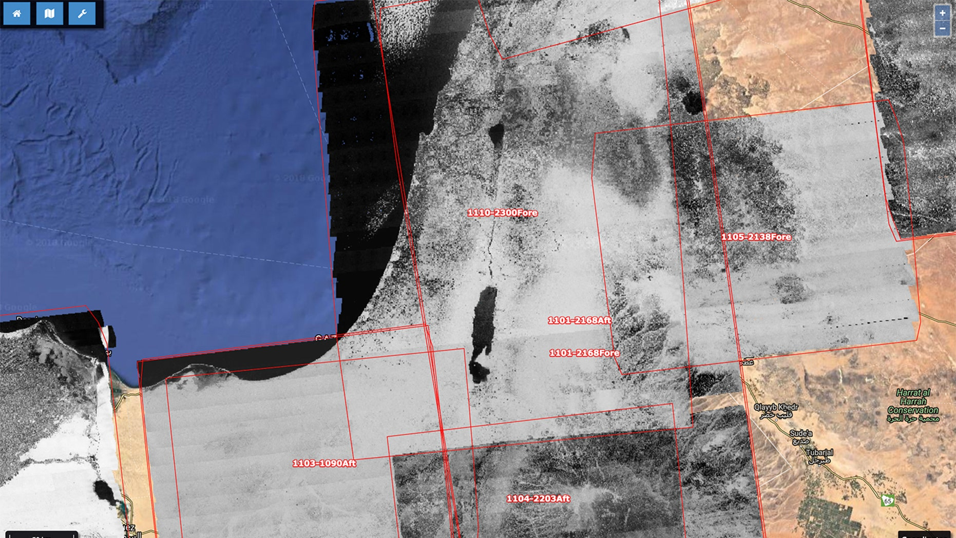 By mapping historical spy-satellite images to recent aerial photos, researchers can find historical sites that vanished decades ago.
