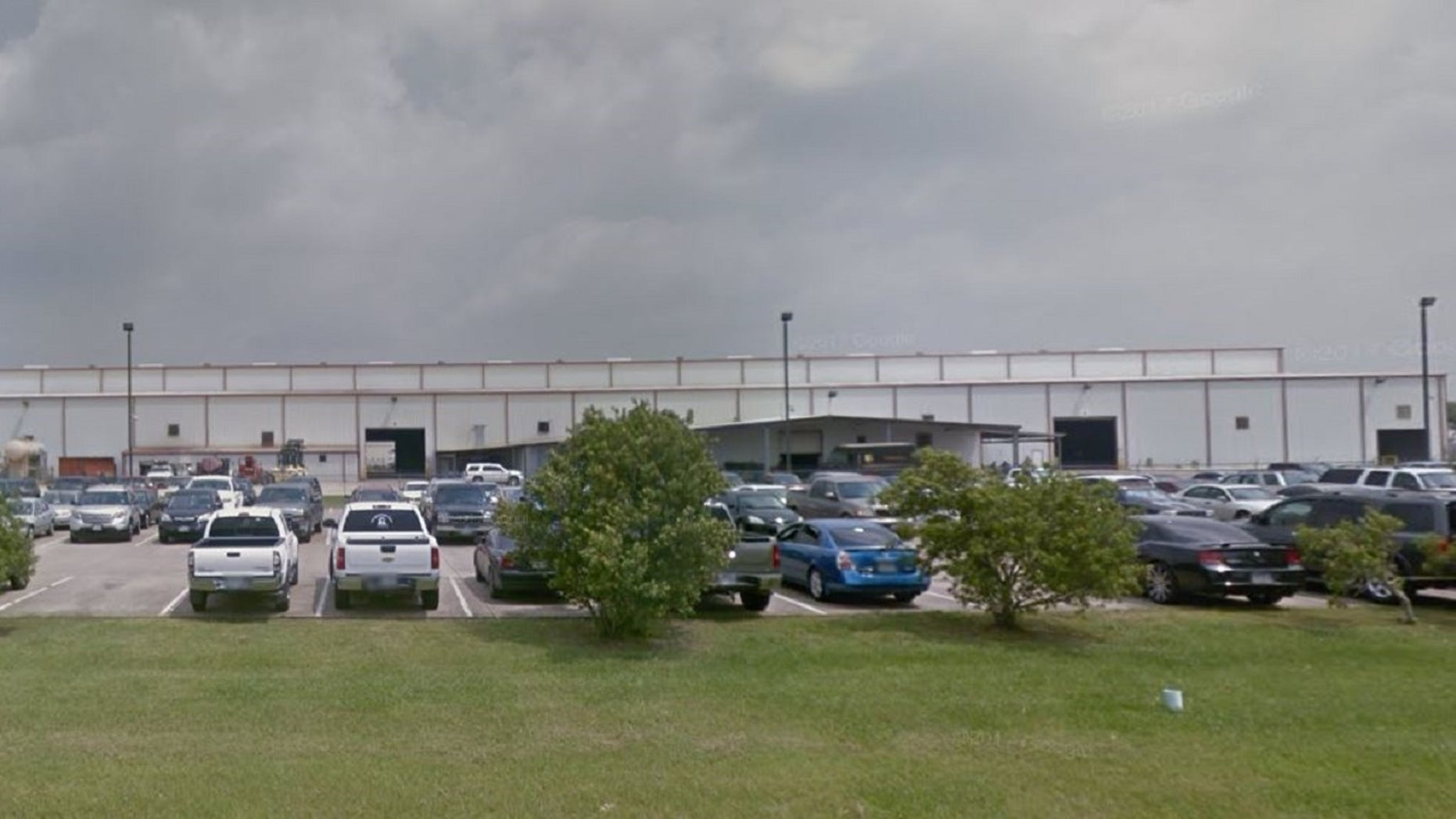 One person was fatally stabbed and another was injured Wednesday at a workplace near Houston, reports said.
