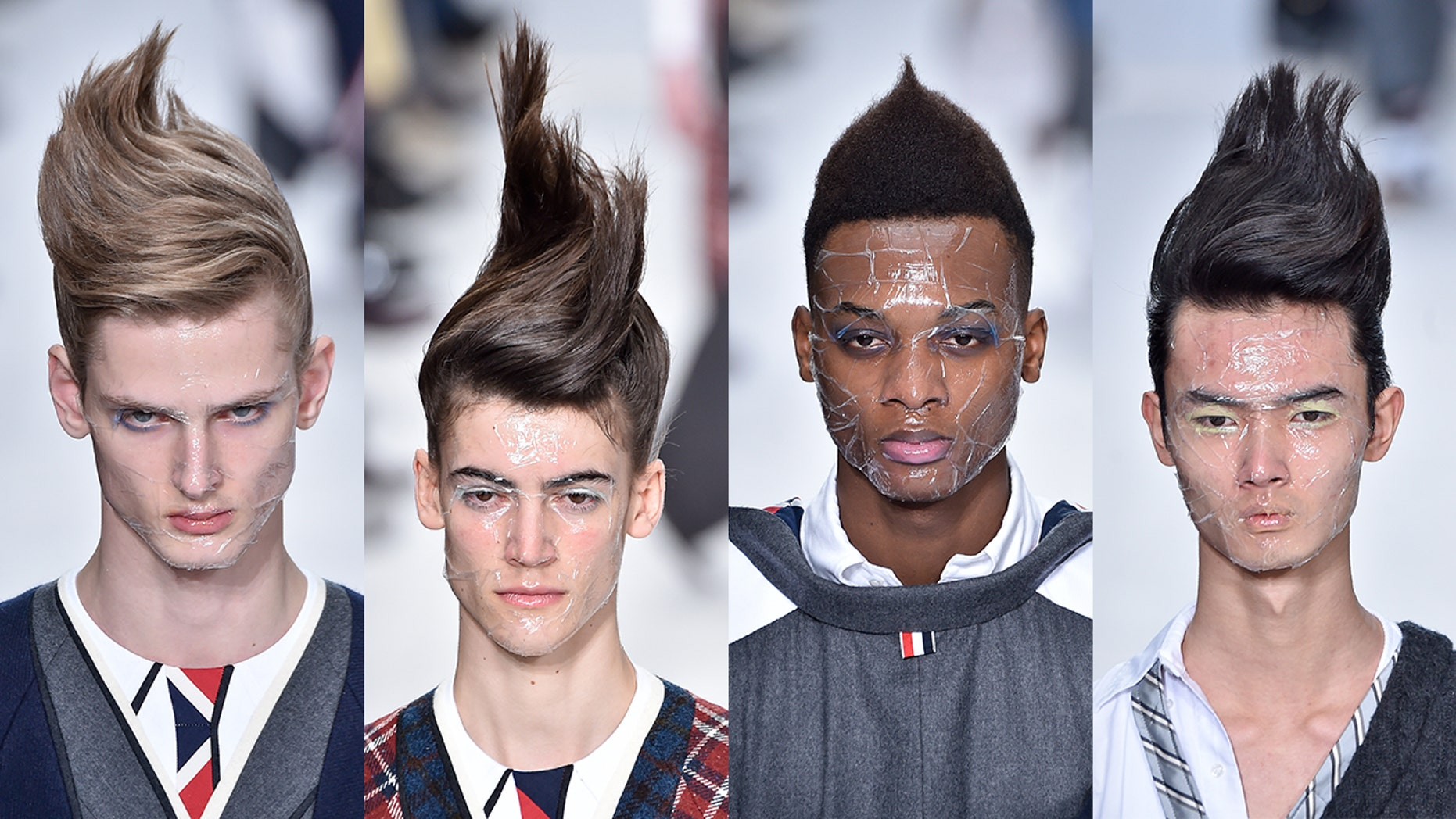 Hair Style 2019 Men: 'Fashion Troll' Is The New Haircut Taking Over The Runway