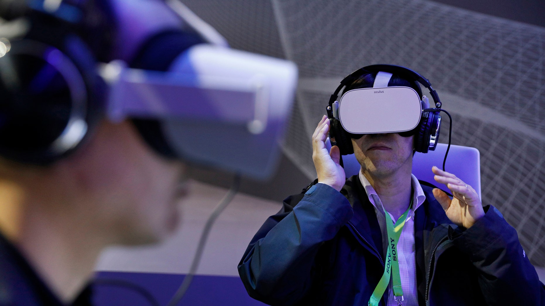 Image result for Remember virtual reality? Its buzz has faded at CES 2019