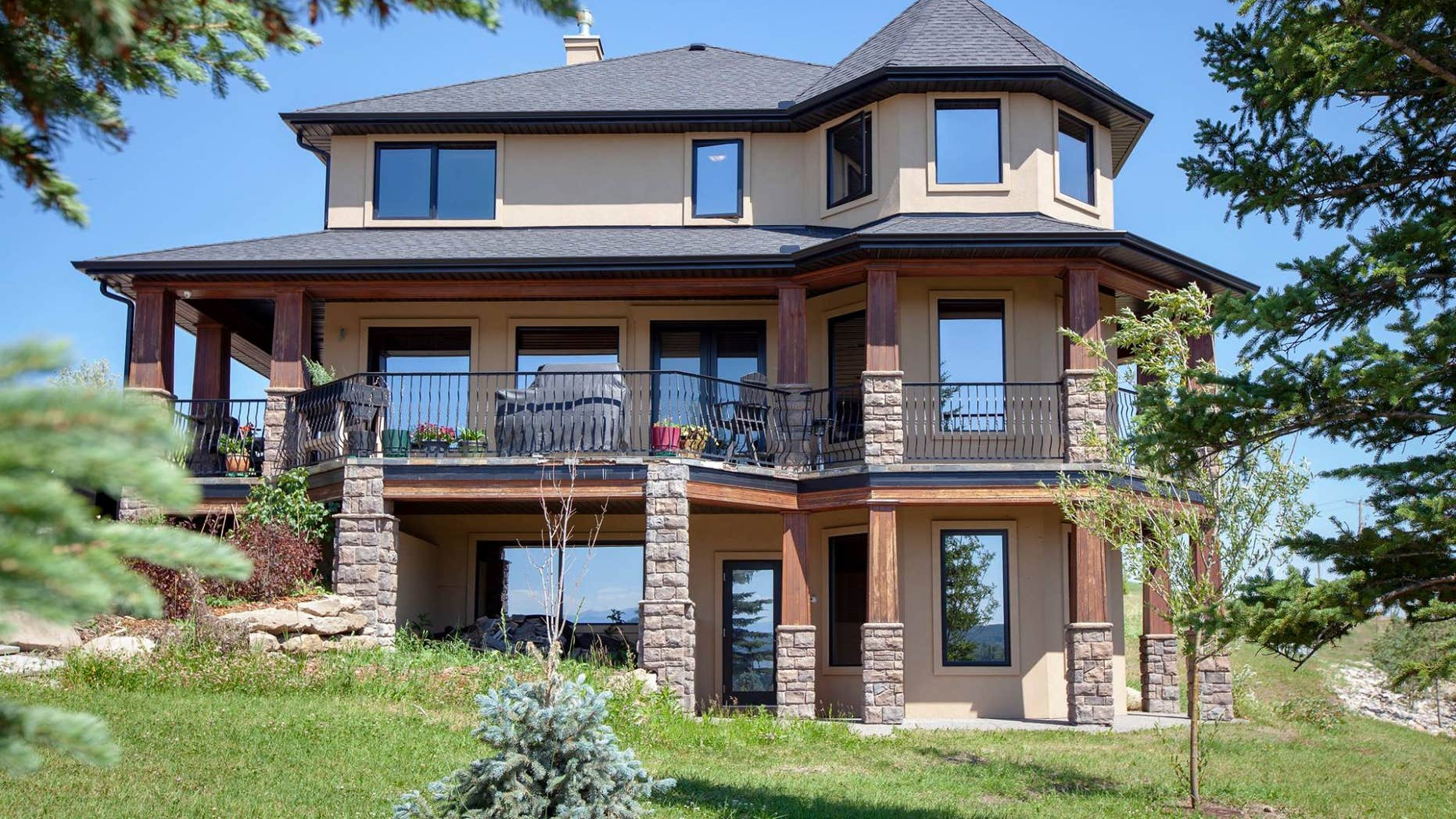 A Canadian woman announced a contest to win her $1.7 million home.