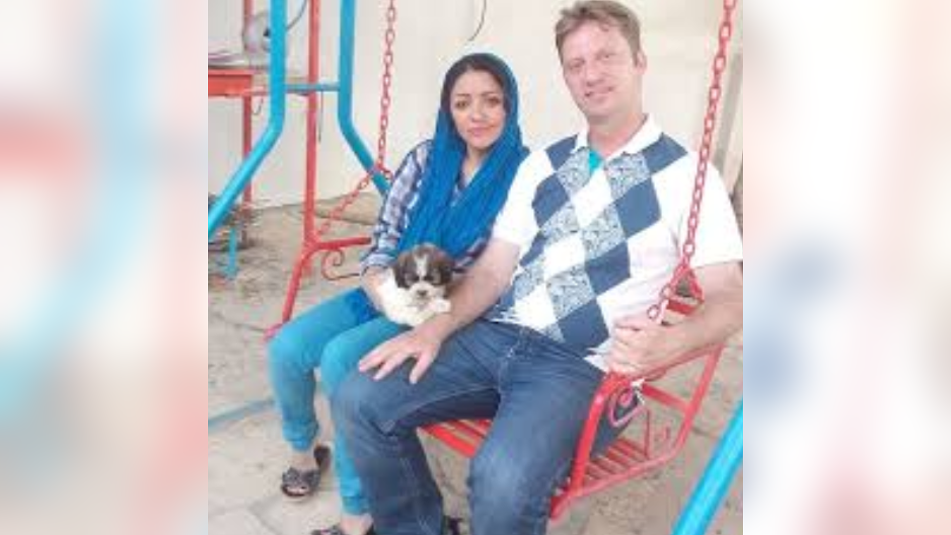 American Navy veteran Michael R. White, 46, was detained in Iran after visiting his Iranian girlfriend, his mother said.
