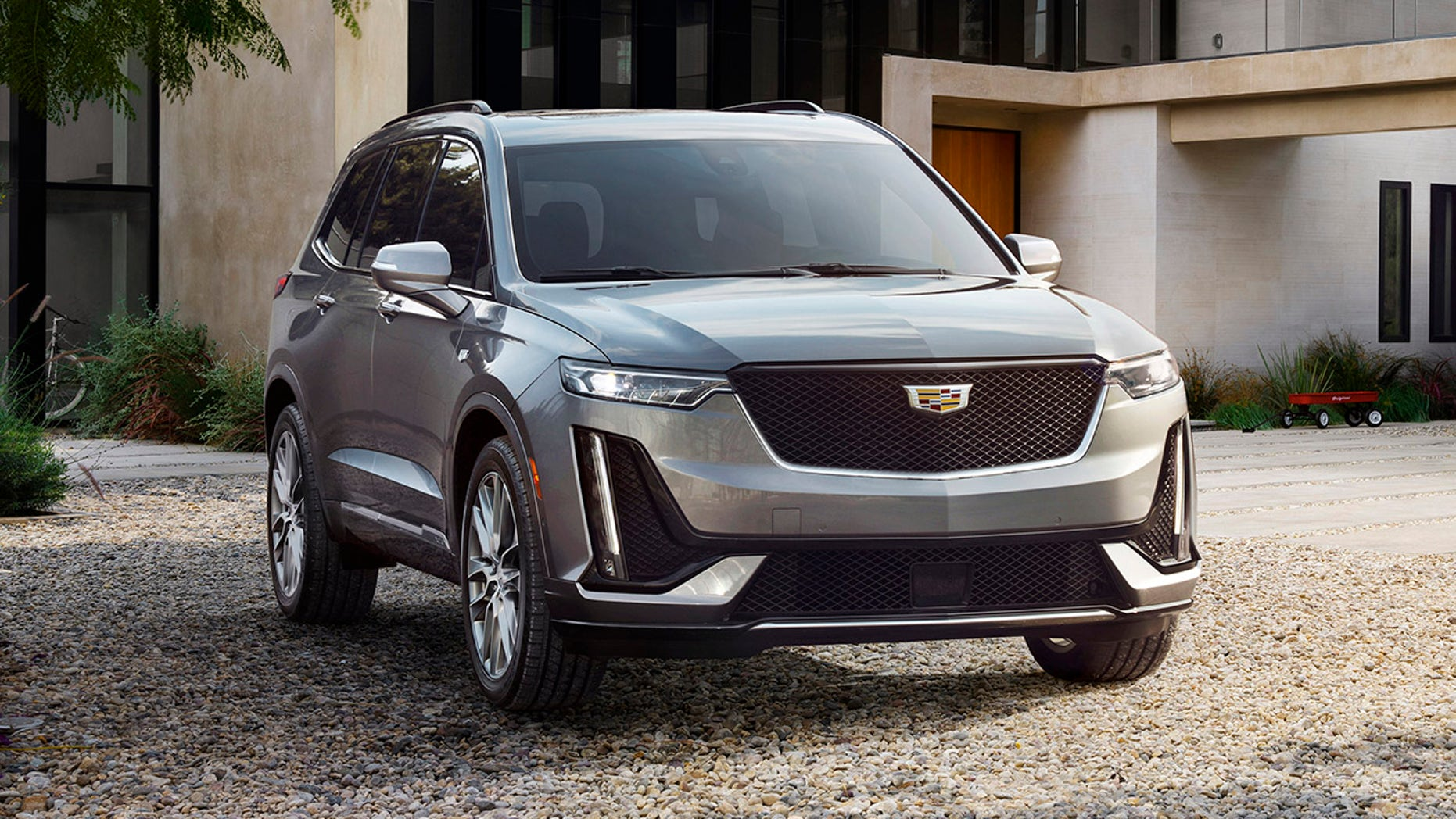 Cadillac teases an electric vehicle: Here's what it looks like