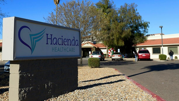 This Friday, Jan. 4, 2019, file photo shows Hacienda HealthCare in Phoenix.