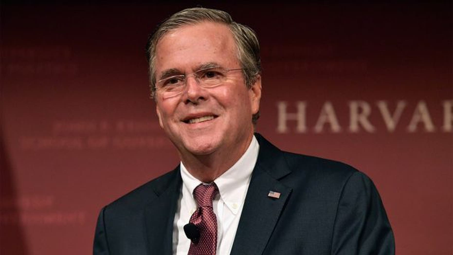 Former 2016 presidential candidate Jeb Bush is seen above. (Getty Images)