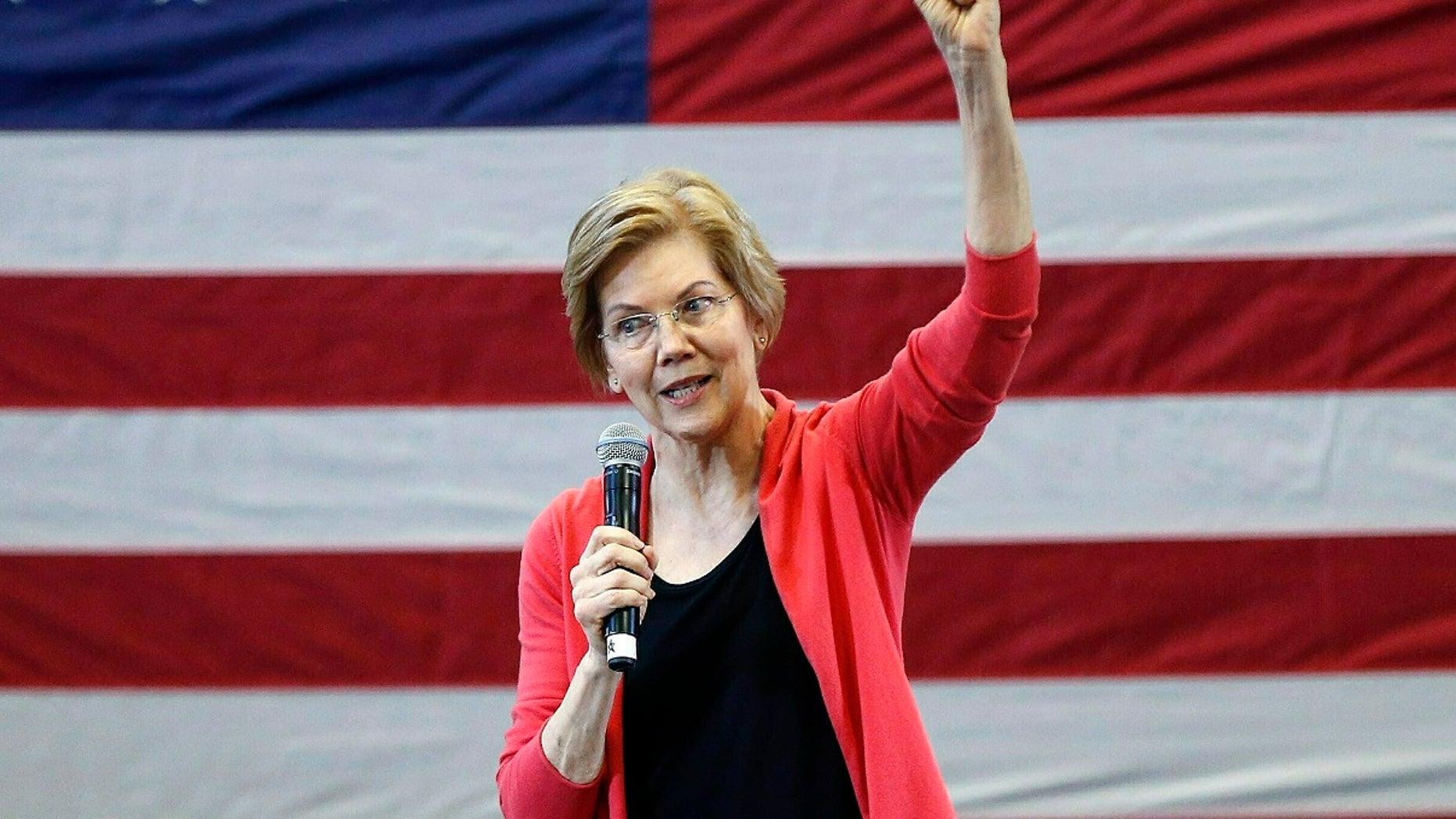 Elizabeth Warren reveals her big tech break-up plan