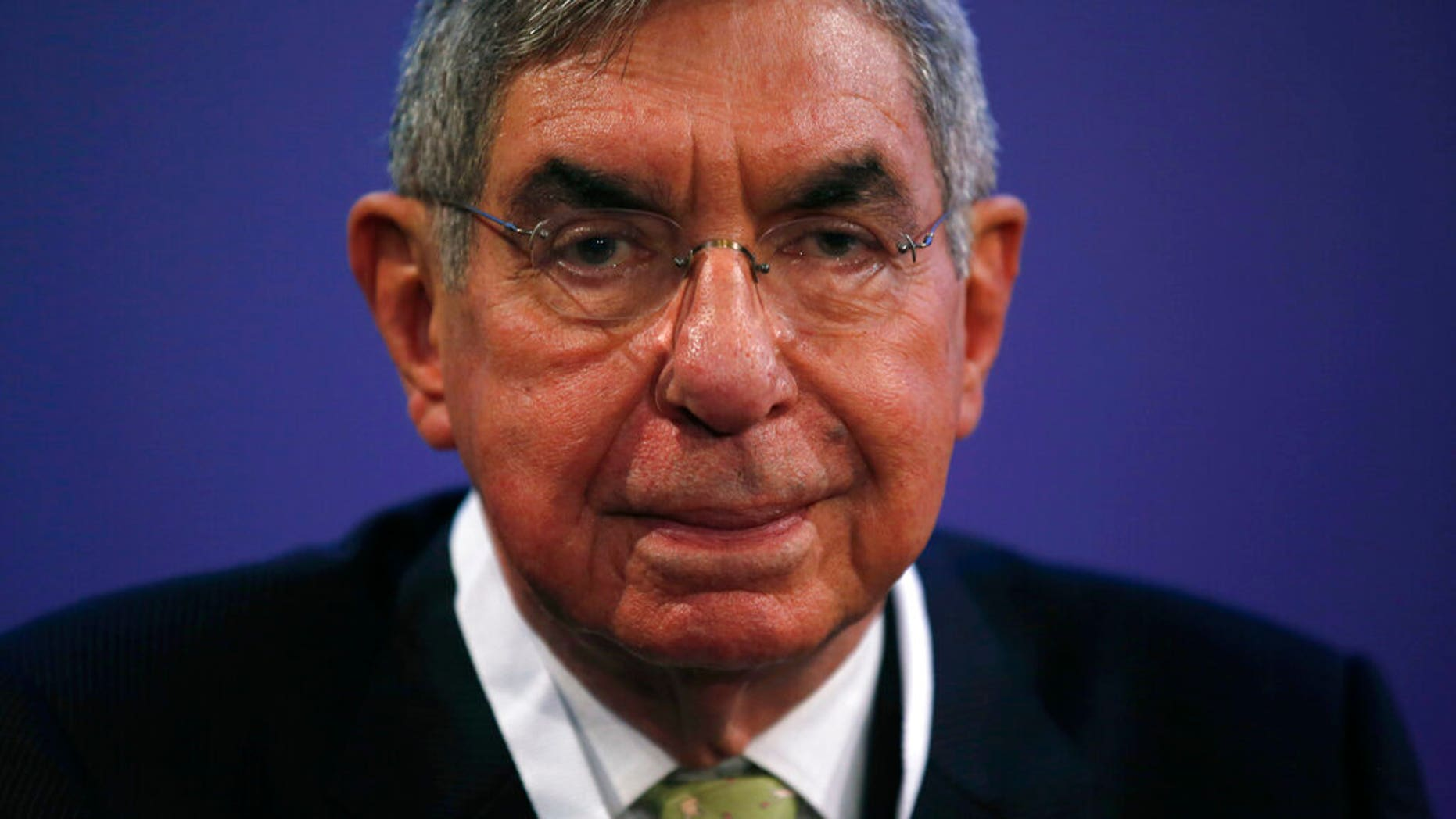 Óscar Arias Sánchez, pictured in 2015, has been accused of sexual assault, a charge he denies