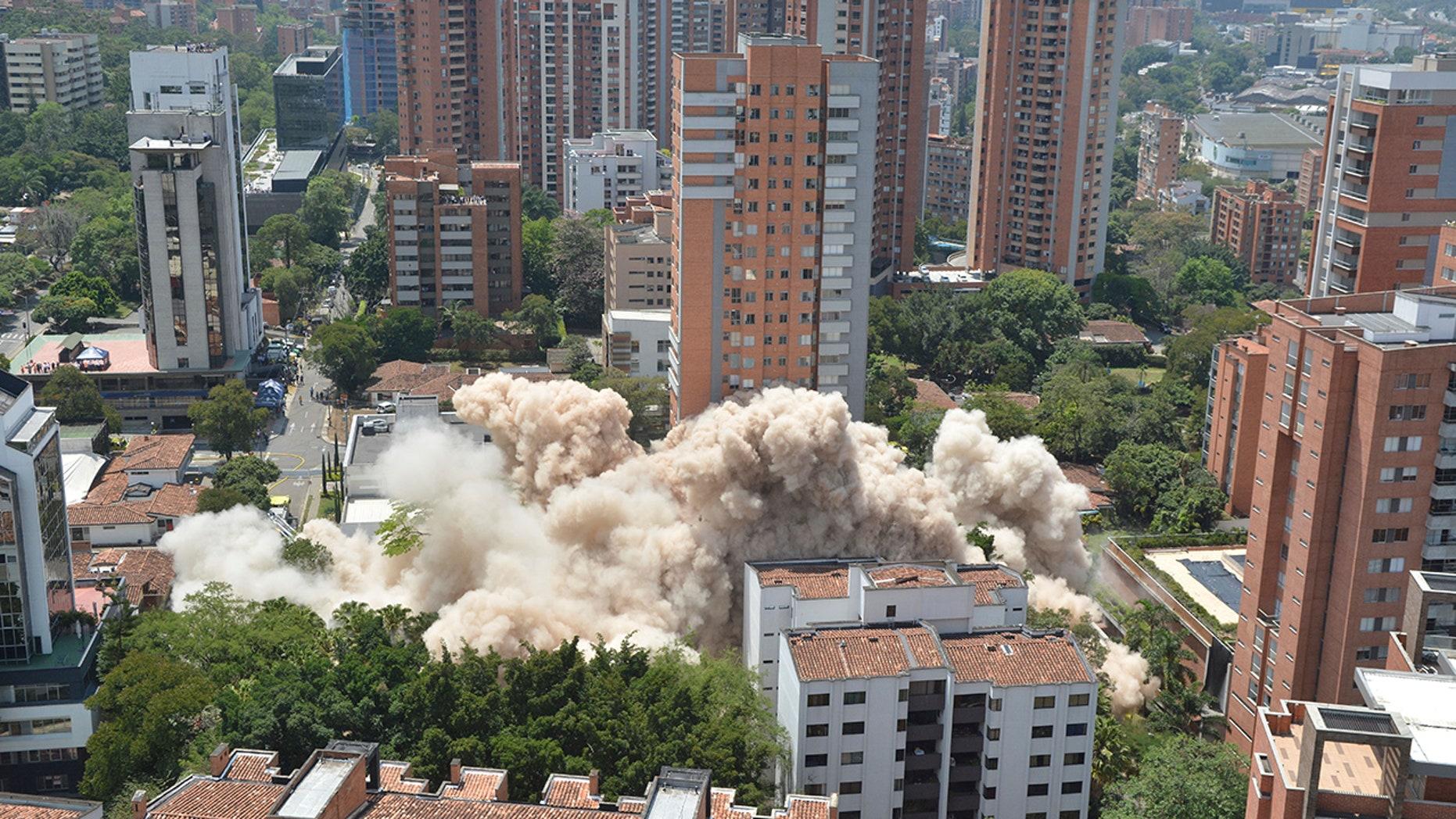 Medellin razes Pablo Escobar's home in symbol of rebirth