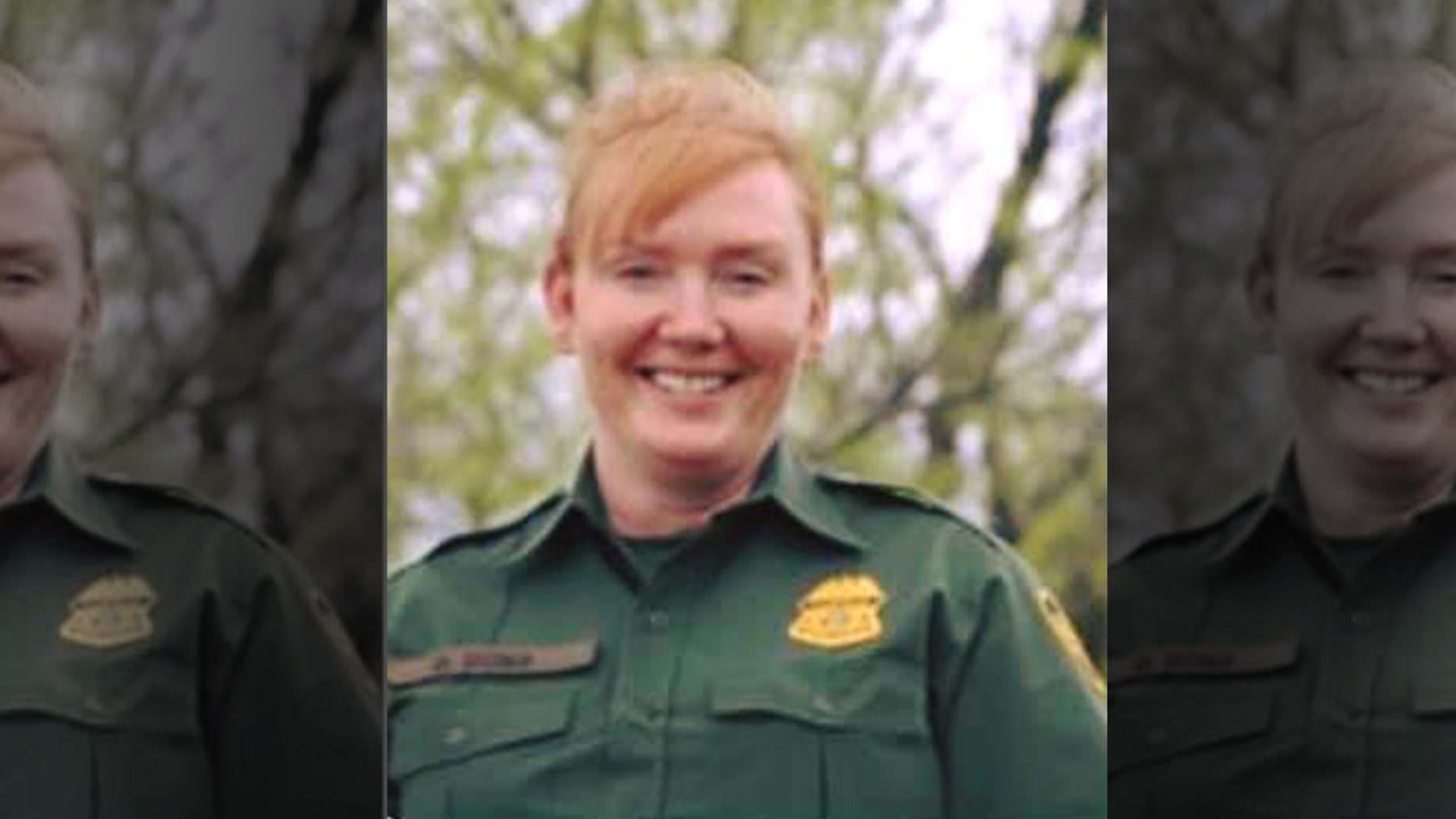 Customs and Border Patrol Agent Donna Doss, 49, was killed Saturday night while on patrol in Abilene, Texas, officials said.