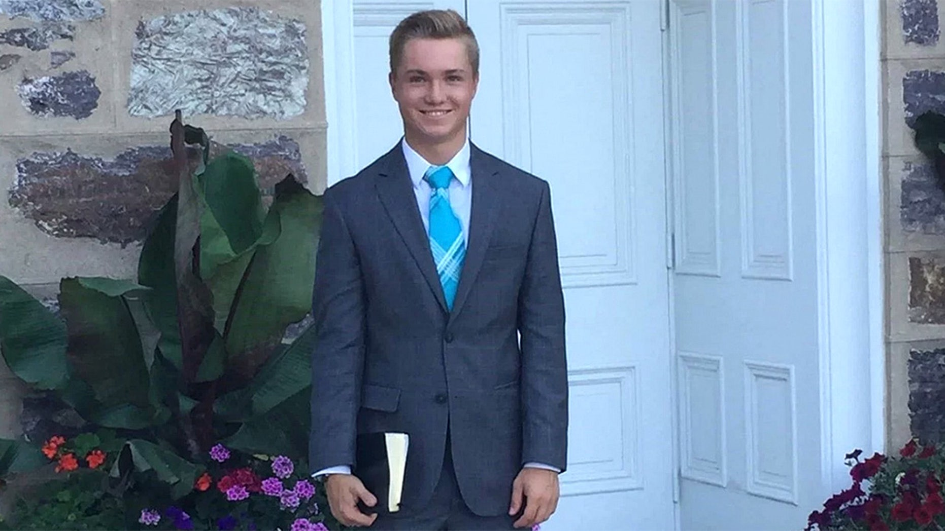 Brennan Conrad, 18, died Wednesday after he fell from the roof of his apartment building in the Dominican Republic, LDS Church said.