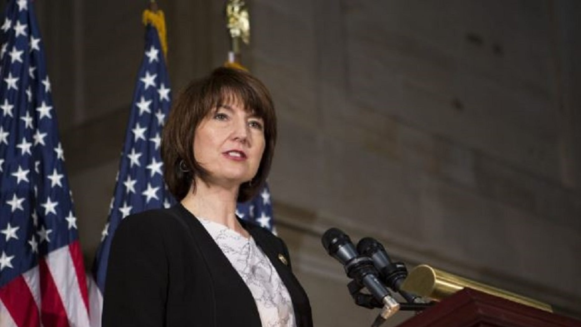 Rep. Cathy McMorris Rodgers, R-Wash., raised concerns Thursday about possible unintended consequences of a national emergency declaration by President Trump. (Rodgers website)