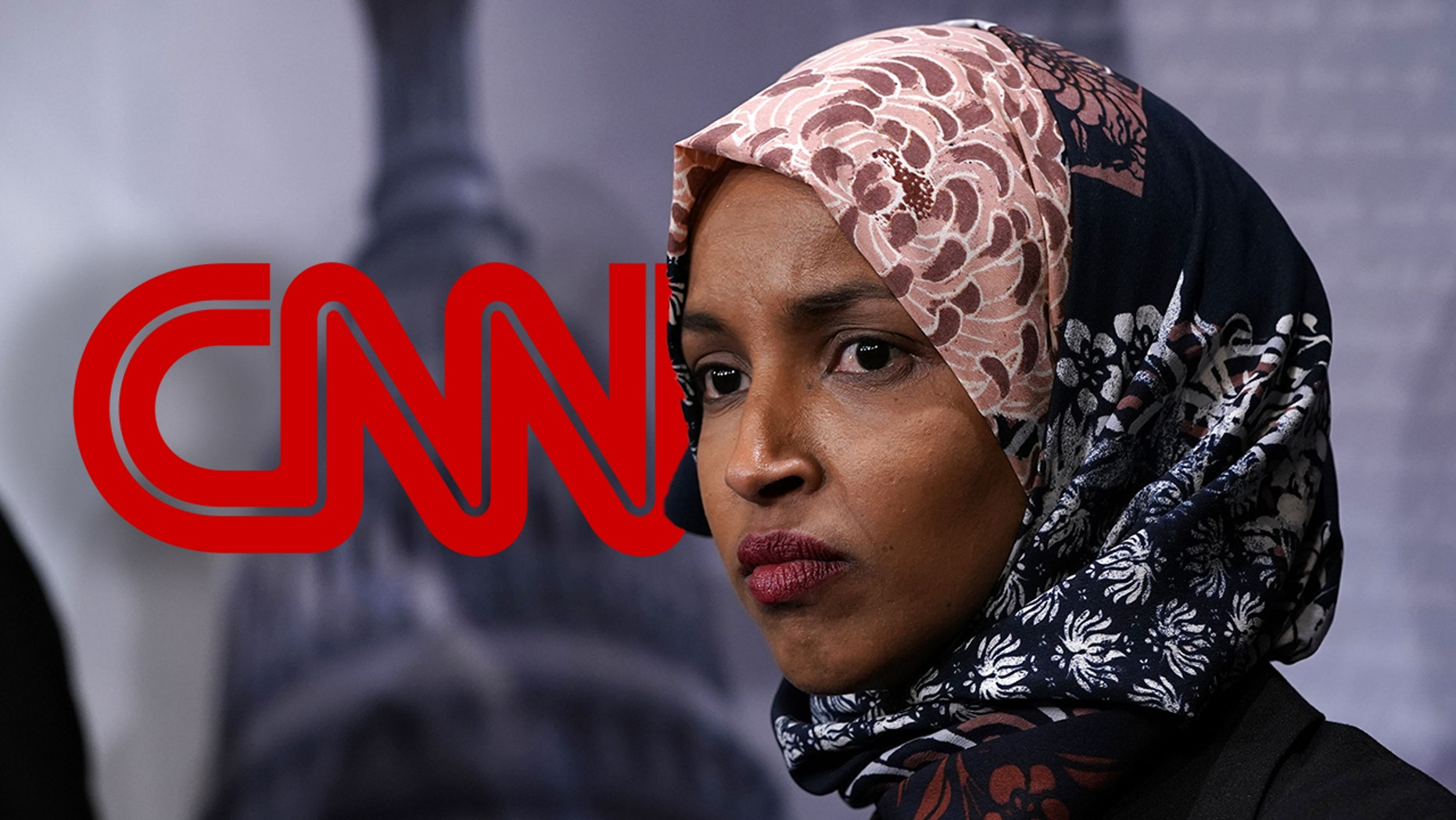 CNN's coverage of Rep. Ilhan Omar turned into criticism of President Trump from the network's biggest names.