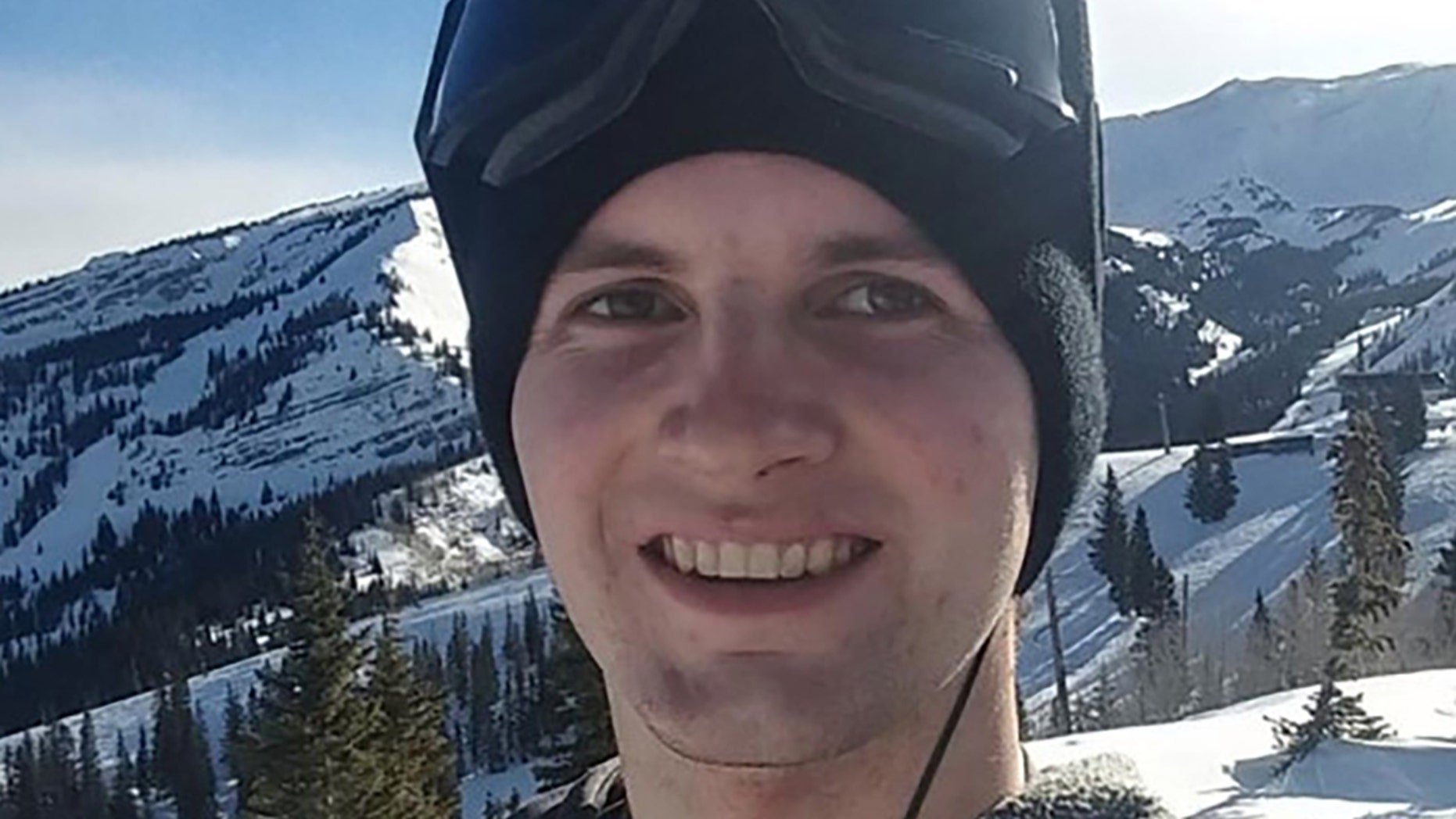 Tyler Hamm died in a snowboarding accident on Sunday.