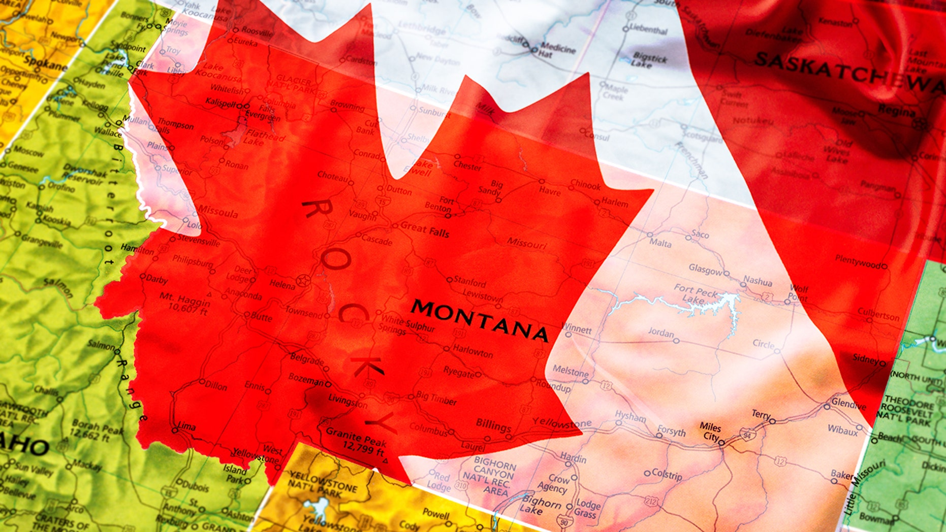 Montana to Canada for a $1 trillion?