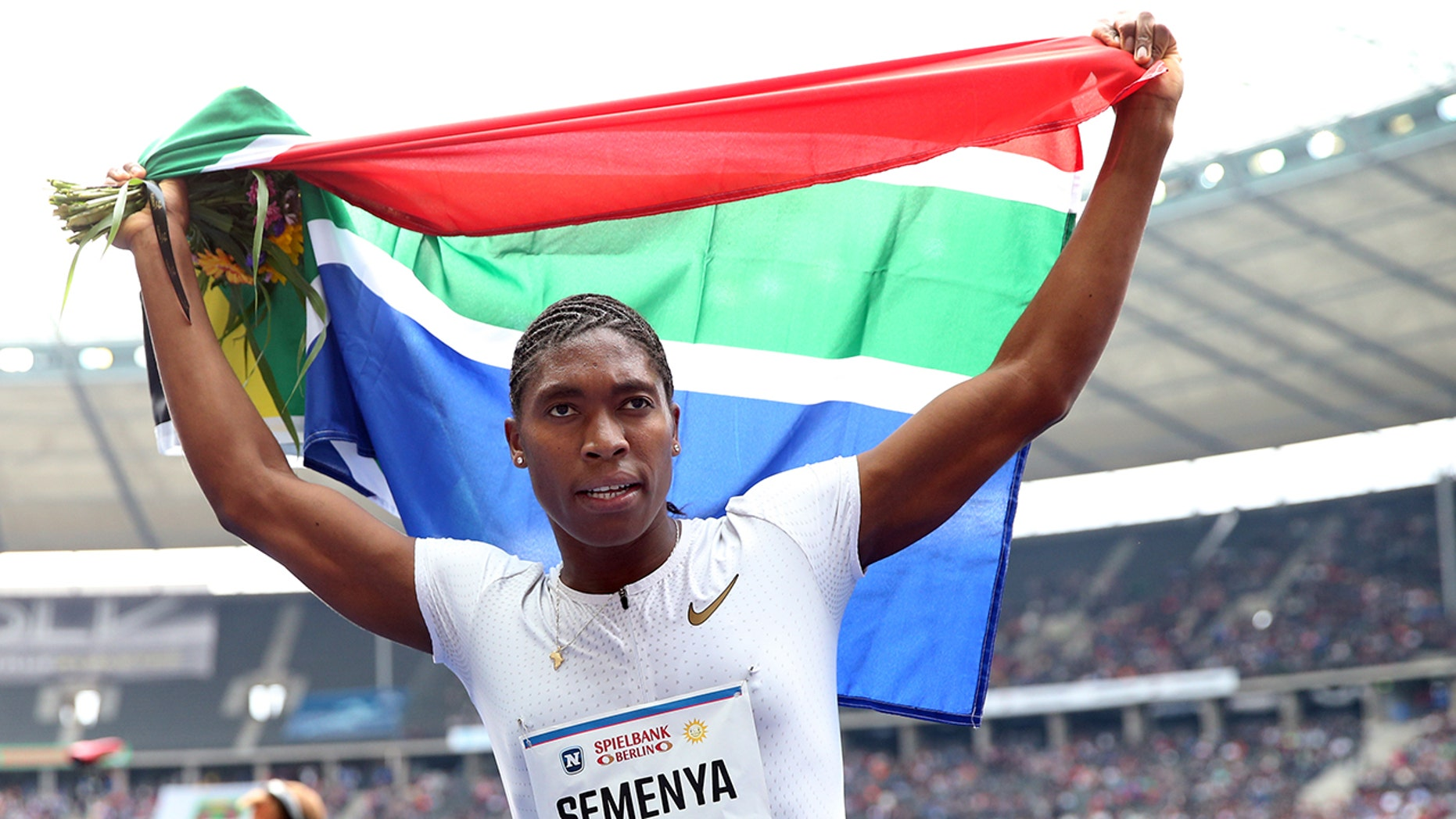 "The International Association of Athletics Federations has denied that a new ruling will label South African Olympic medalist Caster Semenya, and other hyperandrogenic athletes, as ""biologically male"""