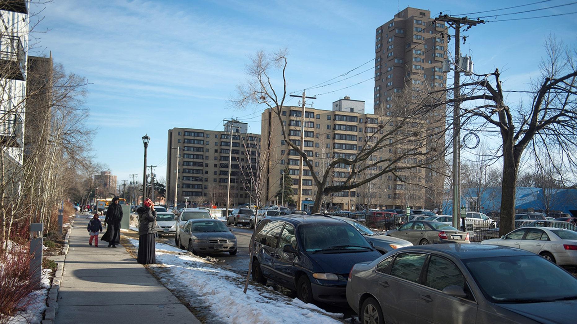 The Cedar-Riverside neighborhood is home to a large Somali community. REUTERS/Craig Lassig