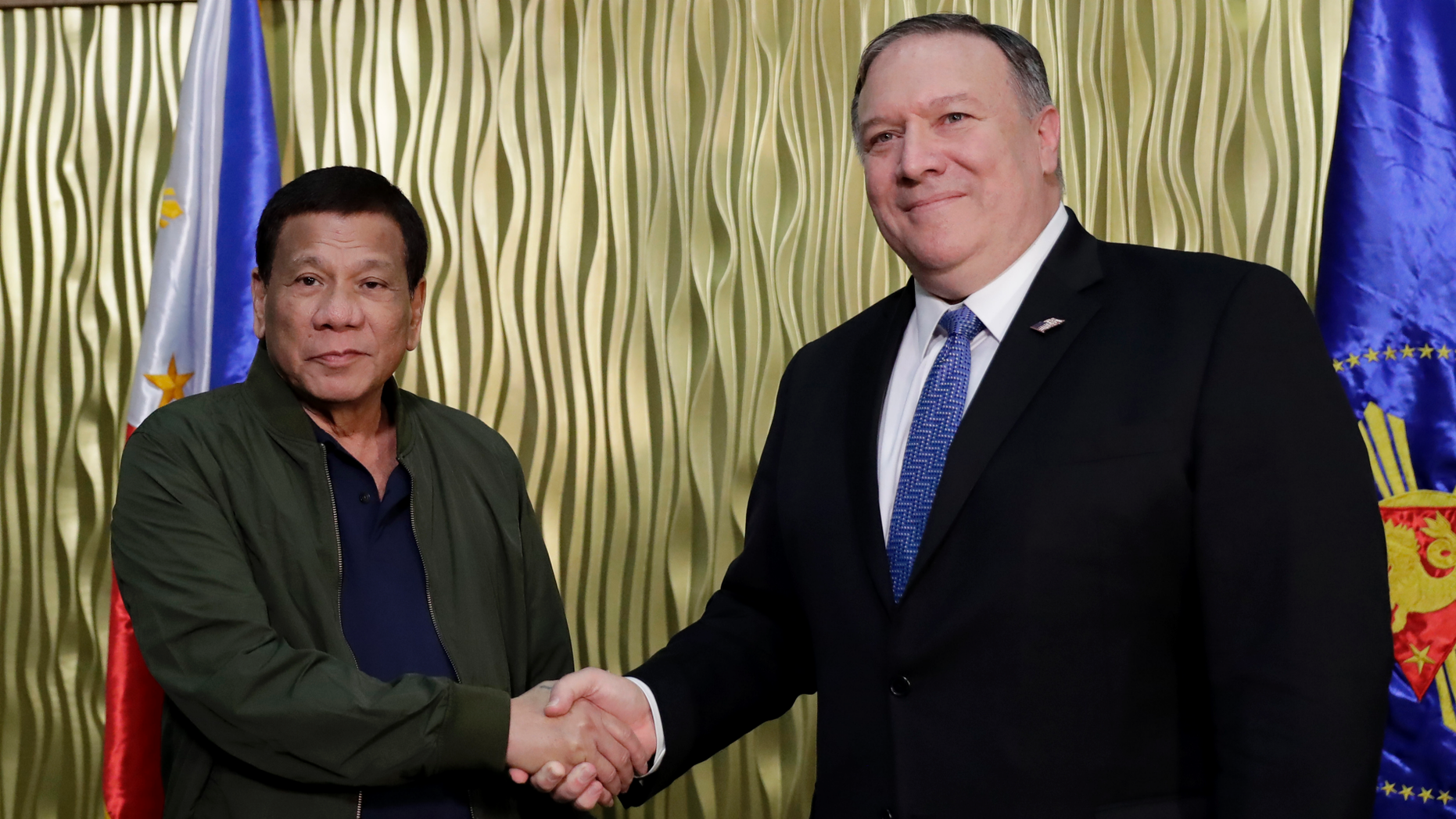 United States  vows Philippines aid against
