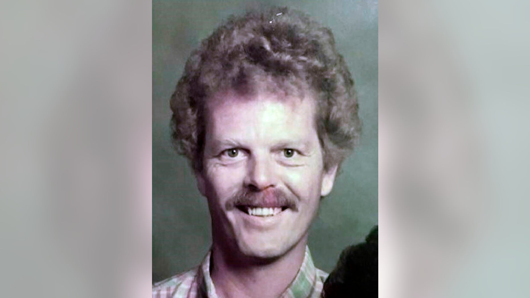 This undated photo provided by the Orange County District Attorney's Office shows James Neal. California authorities have released a decades-old photo of a suspect in the 1973 killing of an 11-year-old girl in the hopes of jogging the memory of any potential witnesses. Officials in Orange County said Thursday, Feb. 21, 2019 that the photo may depict what James Neal looked like around the time Linda O'Keefe was killed. James Neal, a  Colorado man arrested after DNA tied him to the 1973 killing of an 11-year-old California girl has yet to decide if he will fight extradition. (Orange County District Attorney's Office via AP)