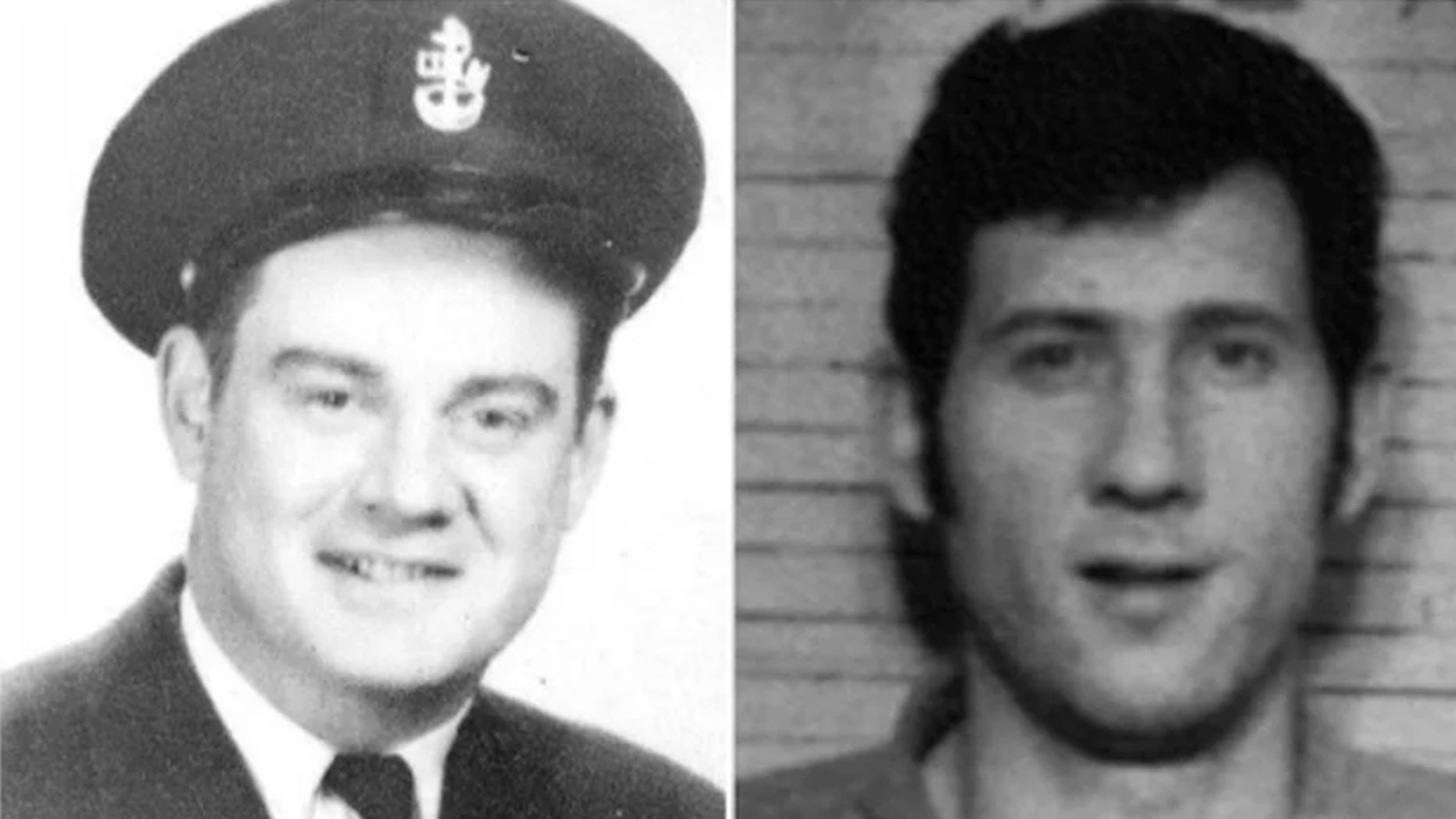 Everett Delano, left, was killed on Sept. 1, 1966 and gone unsolved for over 50 years. Officials revealed Wednesday that Thomas Cass, right, is the suspected killer.